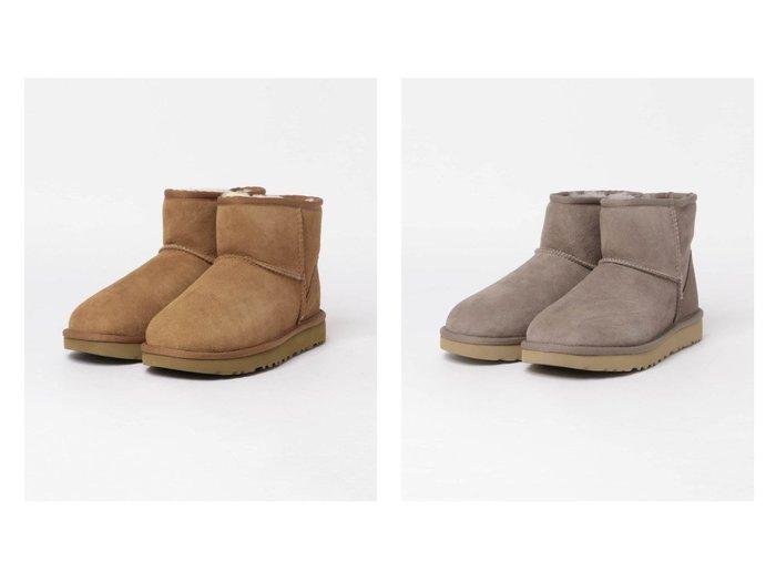 【Sonny Label / URBAN RESEARCH/サニーレーベル】のUGG CLASSIC MINI 2 シューズ・靴のおすすめ!人気、レディースファッションの通販 おすすめファッション通販アイテム レディースファッション・服の通販 founy(ファニー) ファッション Fashion レディース WOMEN クラシック シューズ ショート スエード |ID:crp329100000002264