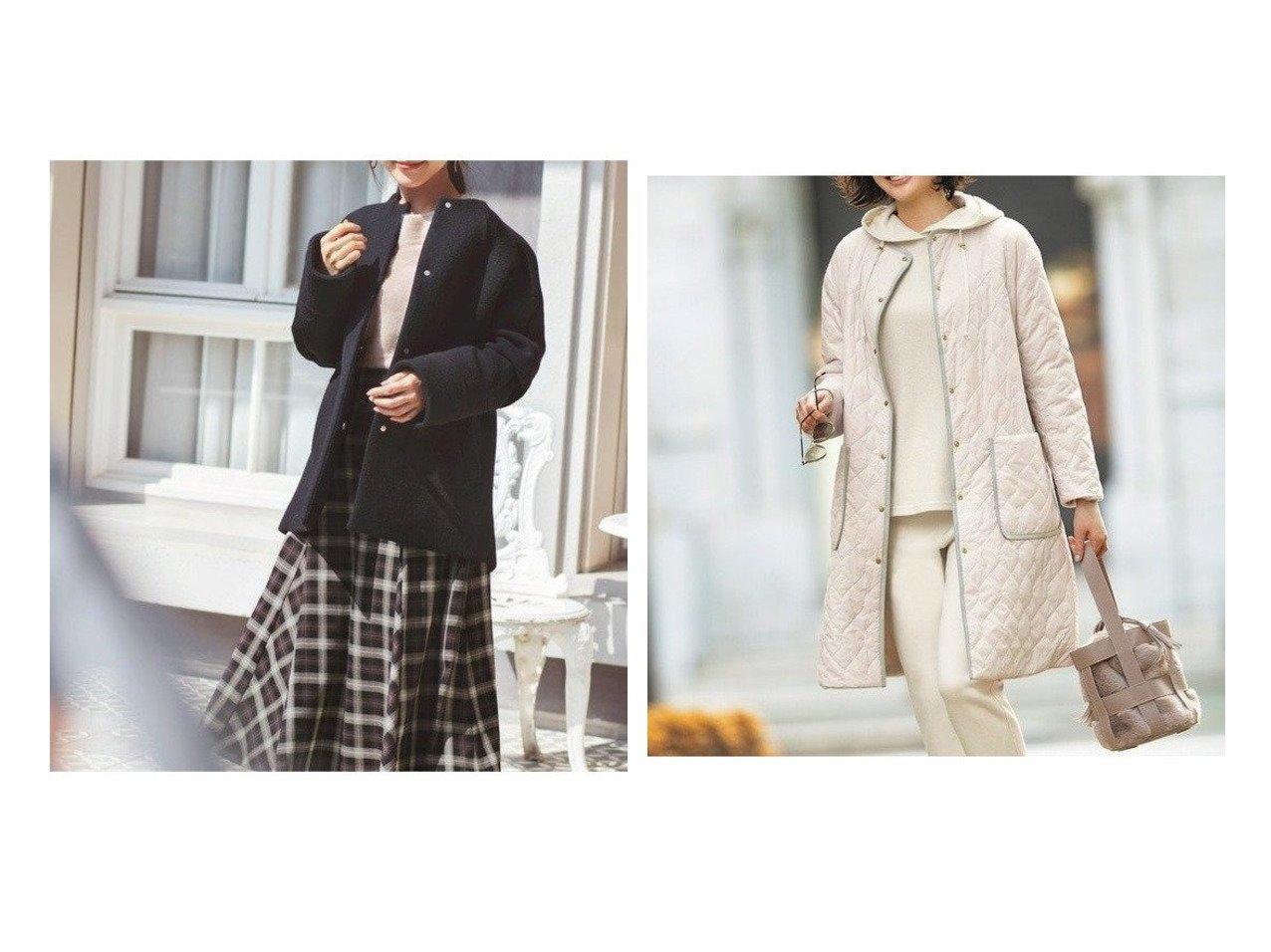【JIYU-KU/自由区】の【UNFILO】マシュマロフリース リバーシブル コート&【any SiS/エニィ スィス】のクラシカルケープ コート アウターのおすすめ!人気、レディースファッションの通販  おすすめで人気のファッション通販商品 インテリア・家具・キッズファッション・メンズファッション・レディースファッション・服の通販 founy(ファニー) https://founy.com/ ファッション Fashion レディース WOMEN アウター Coat Outerwear コート Coats ジャケット Jackets エアリー クラシカル 今季 ショルダー ジャケット トレンド ドロップ ボトム ボトルネック インナー キルティング キルト コンパクト スウェット フィット リバーシブル |ID:crp329100000002342