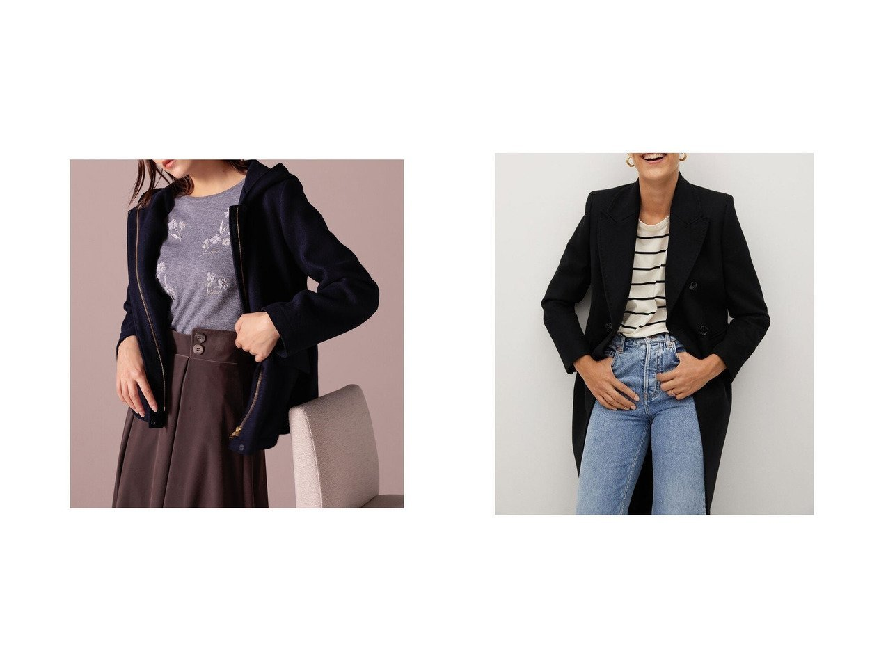 【MANGO/マンゴ】のコート .-- STRAUSS&【Ketty/ケティ】のフードショートジャケット アウターのおすすめ!人気、レディースファッションの通販  おすすめで人気のファッション通販商品 インテリア・家具・キッズファッション・メンズファッション・レディースファッション・服の通販 founy(ファニー) https://founy.com/ ファッション Fashion レディース WOMEN アウター Coat Outerwear ジャケット Jackets コート Coats アクリル インナー ガーリー ショート シンプル ジャージ フェミニン ミドル ロング |ID:crp329100000002345
