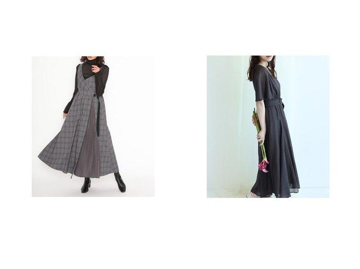【Mystrada/マイストラーダ】のベルト付きシャツワンピース&【SNIDEL/スナイデル】のアシメスイッチングワンピース ワンピース・ドレスのおすすめ!人気、レディースファッションの通販 おすすめファッション通販アイテム レディースファッション・服の通販 founy(ファニー) ファッション Fashion レディース WOMEN ワンピース Dress トップス Tops Tshirt シャツ/ブラウス Shirts Blouses シャツワンピース Shirt Dresses ベルト Belts シャーリング センター チェック ドレープ |ID:crp329100000002464