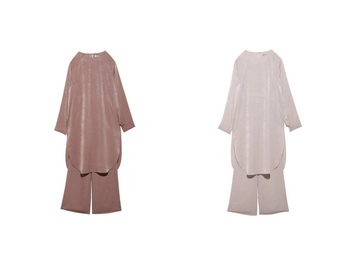 【SNIDEL/スナイデル】のサテンセットアップ ワンピース・ドレスのおすすめ!人気、レディースファッションの通販 おすすめファッション通販アイテム レディースファッション・服の通販 founy(ファニー) ファッション Fashion レディース WOMEN セットアップ Setup ヴィンテージ サテン シンプル スウェード セットアップ チュニック バランス リラックス |ID:crp329100000002486
