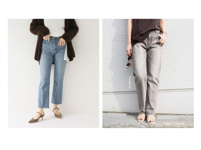 【Spick & Span Noble/スピック&スパン ノーブル】の【JANE SMITH】5POCKET BOOTS CUT&【SHIPS/シップス フォー ウィメン】のスリムストレートデニム パンツのおすすめ!人気、レディースファッションの通販 おすすめファッション通販アイテム インテリア・キッズ・メンズ・レディースファッション・服の通販 founy(ファニー) https://founy.com/ ファッション Fashion レディース WOMEN パンツ Pants デニムパンツ Denim Pants 秋冬 A/W Autumn/ Winter ウォッシュ カットオフ クロップド コレクション シンプル スタイリッシュ スタンダード センター デニム 春 ヴィンテージ ダメージ トレンド  ID:crp329100000002600