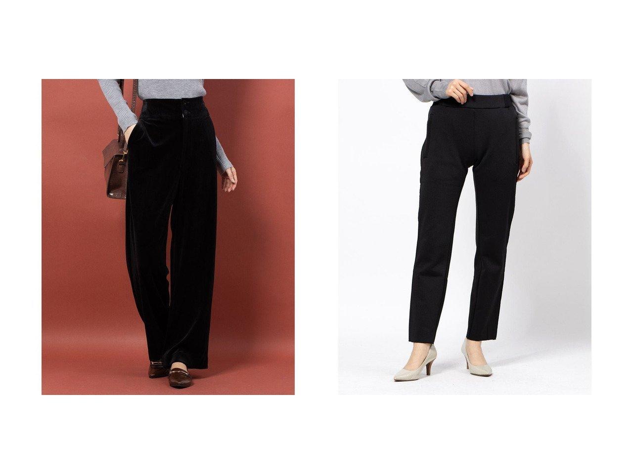 【DOUBLE STANDARD CLOTHING/ダブルスタンダードクロージング】のMA-1DUAL WARM パンツ&【Rename/リネーム】のベルベット調ワイドパンツ パンツのおすすめ!人気、レディースファッションの通販 おすすめで人気のファッション通販商品 インテリア・家具・キッズファッション・メンズファッション・レディースファッション・服の通販 founy(ファニー) https://founy.com/ ファッション Fashion レディース WOMEN パンツ Pants アウター Coat Outerwear MA-1 MA-1 ベルベット ワイド ストレート 冬 Winter |ID:crp329100000002609