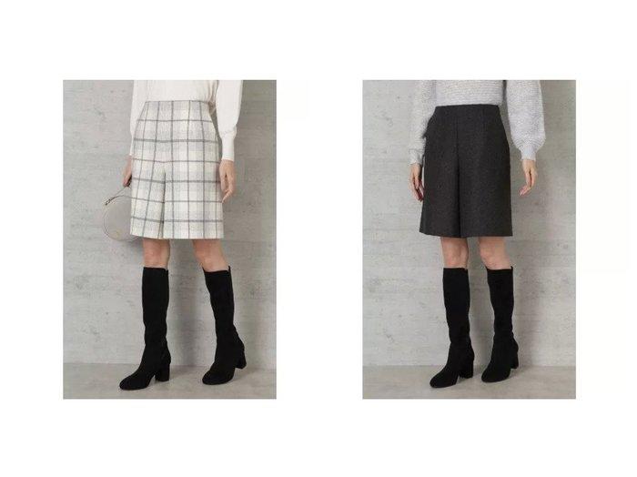 【NATURAL BEAUTY BASIC/ナチュラル ビューティー ベーシック】のウール混キュロットパンツ パンツのおすすめ!人気、レディースファッションの通販 おすすめファッション通販アイテム レディースファッション・服の通販 founy(ファニー) ファッション Fashion レディース WOMEN スカート Skirt キュロット スマート タイツ バランス 切替  ID:crp329100000002619