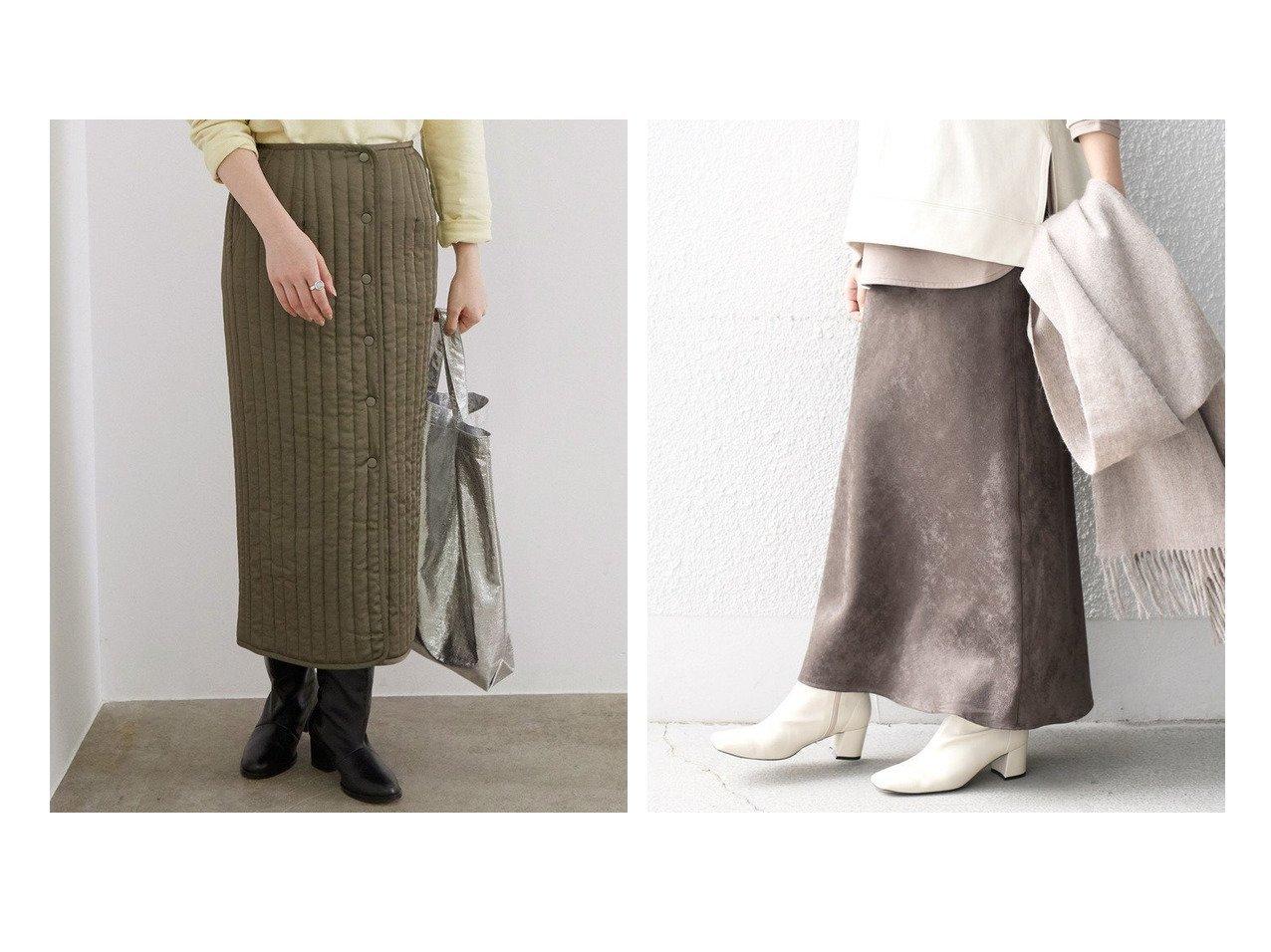 【SHIPS/シップス フォー ウィメン】のカラーフェイクスエードスカート&【ROPE' mademoiselle/ロペ マドモアゼル】のキルティングフロントボタンラップスカート スカートのおすすめ!人気、レディースファッションの通販 おすすめで人気のファッション通販商品 インテリア・家具・キッズファッション・メンズファッション・レディースファッション・服の通販 founy(ファニー) https://founy.com/ ファッション Fashion レディース WOMEN スカート Skirt アクセサリー キルティング サテン シャイニー フォルム ベーシック ミリタリー ジャージー ストレッチ ドレープ フェイクスエード リアル ロング 冬 Winter 春 |ID:crp329100000002662
