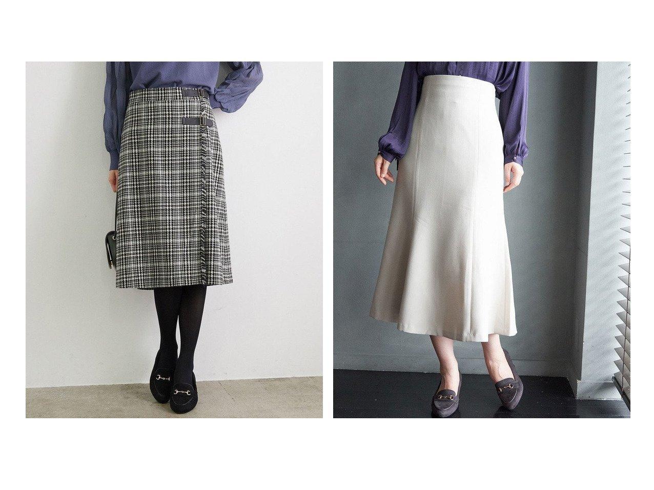 【Rope Picnic/ロペピクニック】のチェック柄フリンジキルトスカート&ストラップマーメイドスカート スカートのおすすめ!人気、レディースファッションの通販 おすすめで人気のファッション通販商品 インテリア・家具・キッズファッション・メンズファッション・レディースファッション・服の通販 founy(ファニー) https://founy.com/ ファッション Fashion レディース WOMEN スカート Skirt キルト タートル チェック フリンジ 秋冬 A/W Autumn/ Winter クラシカル ショート ポケット マーメイド ラップ 秋 |ID:crp329100000002664