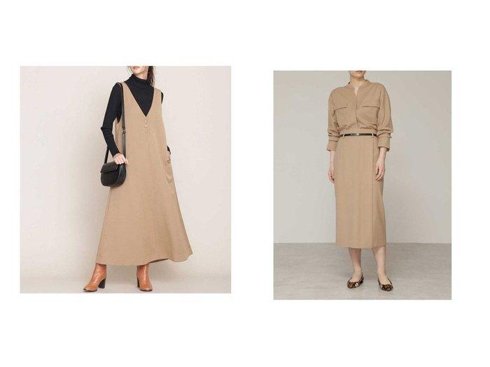 【BOSCH/ボッシュ】のウールサキソニーセットアップスカート&【nano universe/ナノ ユニバース】のVネックジャンパースカート スカートのおすすめ!人気、レディースファッションの通販 おすすめファッション通販アイテム レディースファッション・服の通販 founy(ファニー) ファッション Fashion レディース WOMEN ワンピース Dress セットアップ Setup スカート Skirt ツイル フレア ポケット ロング ストレッチ スマート バランス ラップ 軽量 |ID:crp329100000002667
