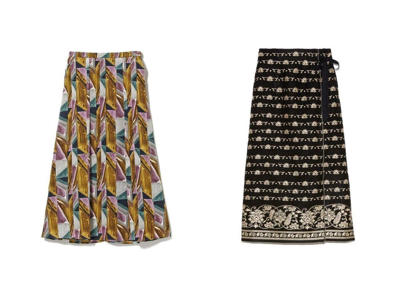 【Lily Brown/リリーブラウン】のラメJQラップスカート&【Ray BEAMS/レイ ビームス】のプリント Aライン スカート スカートのおすすめ!人気、レディースファッションの通販 おすすめで人気のファッション通販商品 インテリア・家具・キッズファッション・メンズファッション・レディースファッション・服の通販 founy(ファニー) https://founy.com/ ファッション Fashion レディース WOMEN スカート Skirt Aライン/フレアスカート Flared A-Line Skirts ギャザー サテン スウェット トレンド フレア プリント 秋冬 A/W Autumn/ Winter スマート ラップ 台形 |ID:crp329100000002670