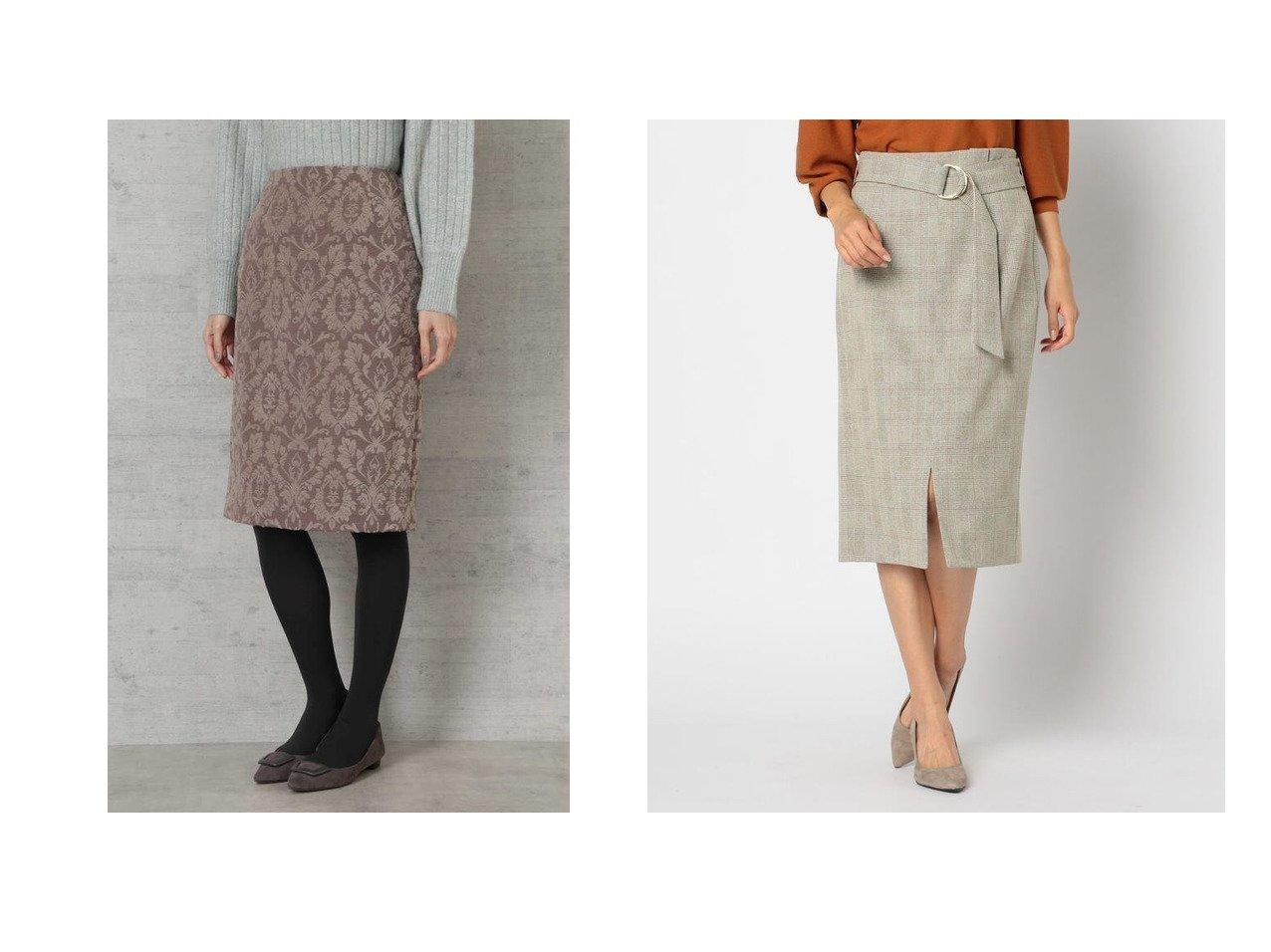 【NATURAL BEAUTY BASIC/ナチュラル ビューティー ベーシック】のオーナメントジャガードタイトスカート&【NOLLEY'S/ノーリーズ】のウールライクタイトスカート スカートのおすすめ!人気、レディースファッションの通販 おすすめで人気のファッション通販商品 インテリア・家具・キッズファッション・メンズファッション・レディースファッション・服の通販 founy(ファニー) https://founy.com/ ファッション Fashion レディース WOMEN スカート Skirt クラシカル シンプル タイトスカート ウォッシャブル ストレッチ スリット フロント |ID:crp329100000002672