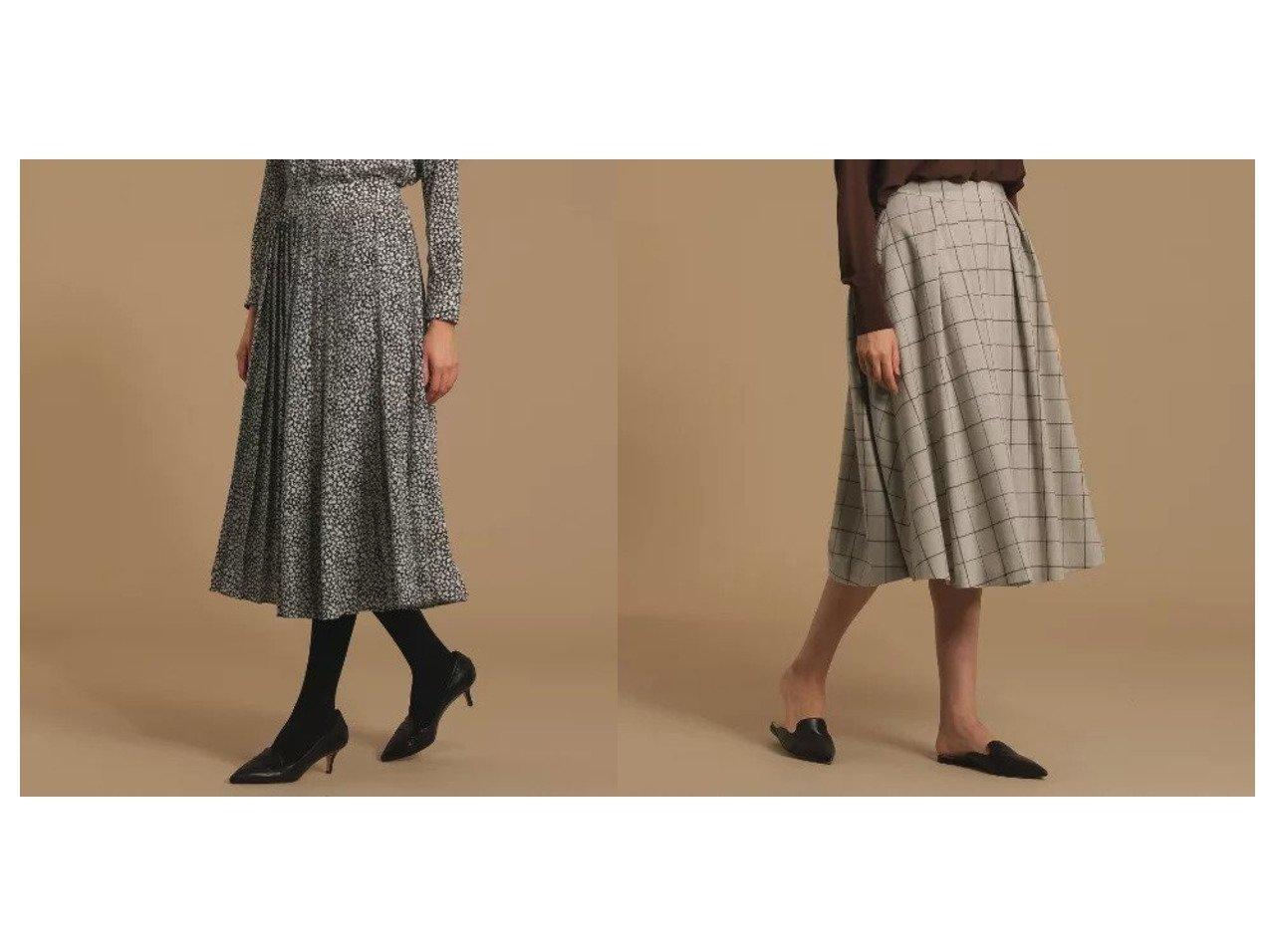 【MACKINTOSH LONDON/マッキントッシュ ロンドン】のウール混フラノウインドウペンタックスカート&ハンドライティングスタープリーツスカート スカートのおすすめ!人気、レディースファッションの通販 おすすめで人気のファッション通販商品 インテリア・家具・キッズファッション・メンズファッション・レディースファッション・服の通販 founy(ファニー) https://founy.com/ ファッション Fashion レディース WOMEN スカート Skirt プリーツスカート Pleated Skirts マキシ ロング  ID:crp329100000002692