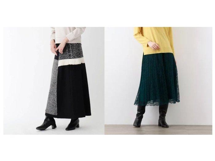 【SOUP/スープ】のパッチワークロングスカート&【AMACA/アマカ】のフラワーラッセルレーススカート スカートのおすすめ!人気、レディースファッションの通販 おすすめファッション通販アイテム レディースファッション・服の通販 founy(ファニー) ファッション Fashion レディース WOMEN スカート Skirt ロングスカート Long Skirt パッチワーク マキシ ロング |ID:crp329100000002693