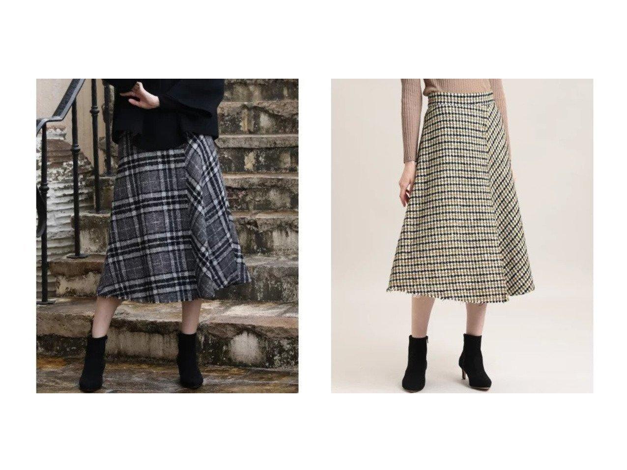 【ef-de/エフデ】の《Maglie par ef-de》ブークレツイードラップスカート スカートのおすすめ!人気、レディースファッションの通販 おすすめで人気のファッション通販商品 インテリア・家具・キッズファッション・メンズファッション・レディースファッション・服の通販 founy(ファニー) https://founy.com/ ファッション Fashion レディース WOMEN スカート Skirt クラシカル ショート チェック ツイード トレンド フレア ポケット ミックス ミドル ラップ  ID:crp329100000002698