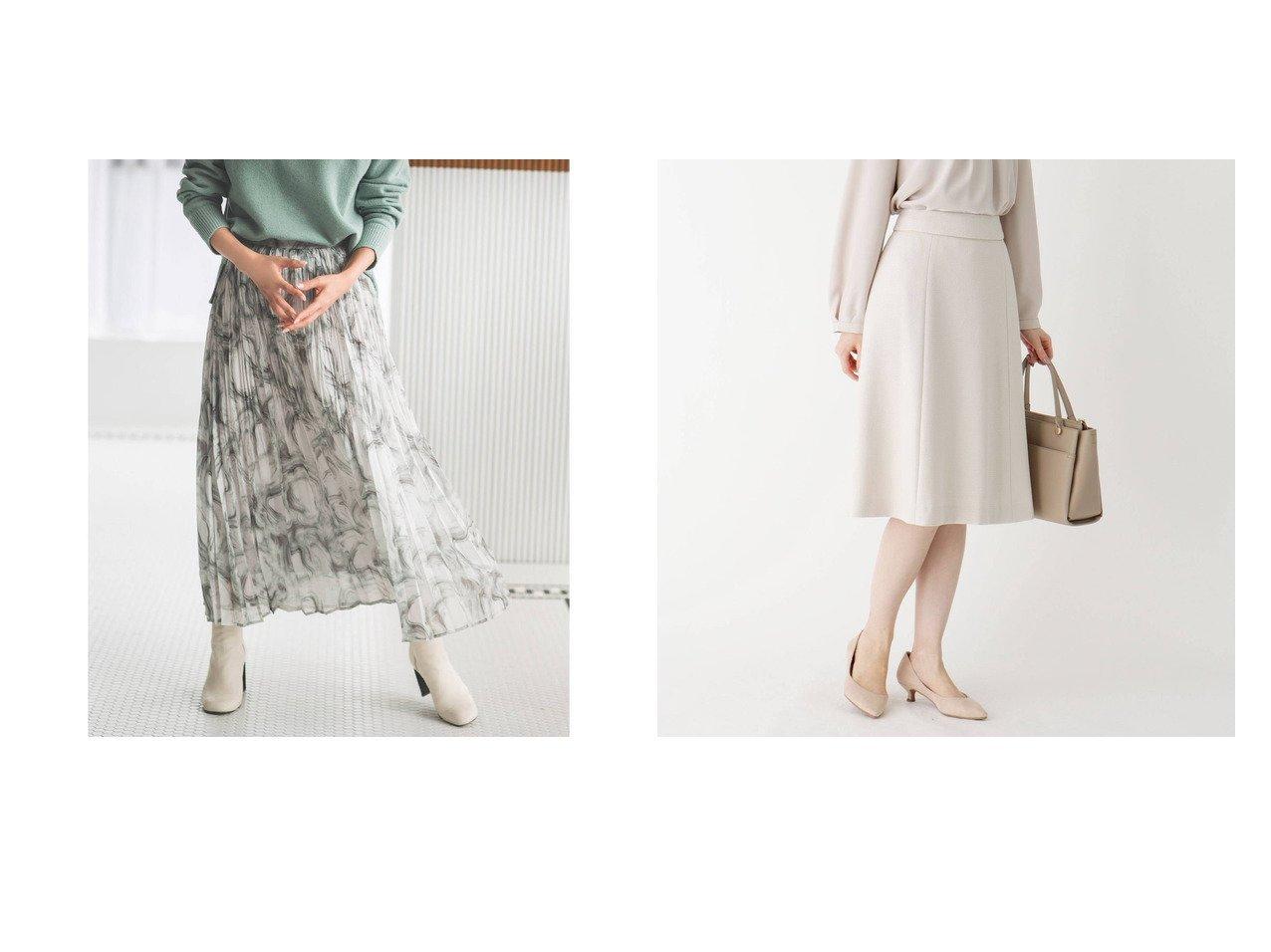 【OPAQUE.CLIP/オペークドットクリップ】の【WEB限定サイズ】マーブルプリント ランダムプリーツフレアスカート&【INDEX/インデックス】の【WEB限定サイズ】スパークルツイードAラインフレアスカート スカートのおすすめ!人気、レディースファッションの通販 おすすめで人気のファッション通販商品 インテリア・家具・キッズファッション・メンズファッション・レディースファッション・服の通販 founy(ファニー) https://founy.com/ ファッション Fashion レディース WOMEN スカート Skirt Aライン/フレアスカート Flared A-Line Skirts ショート スウェット 雑誌 パーカー プリント プリーツ マーブル ミドル ランダム ロング ジャケット セットアップ ツイード ベーシック  ID:crp329100000002702