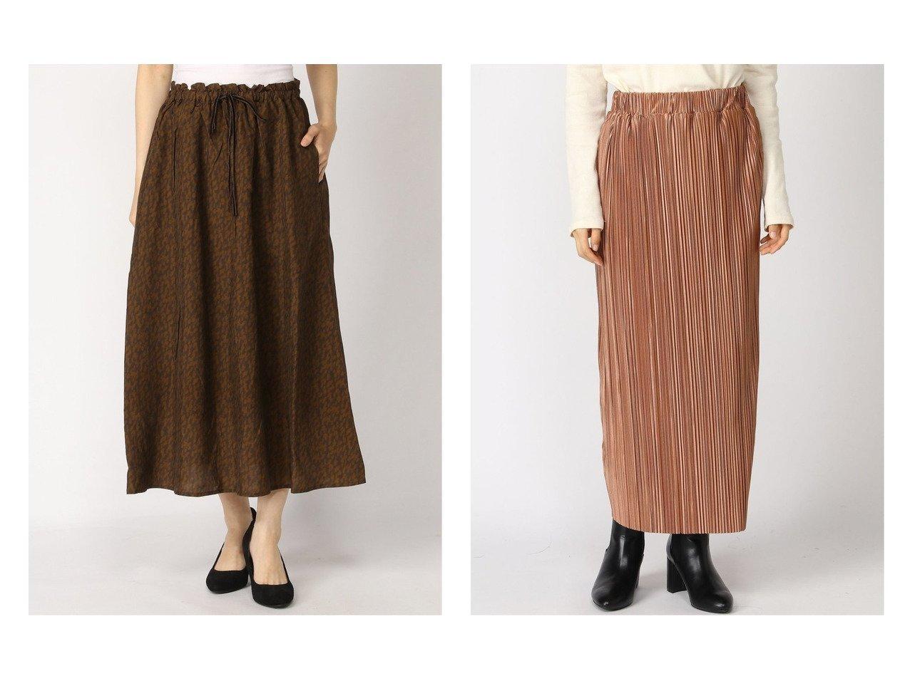 【LOWRYS FARM/ローリーズファーム】のランダムプリーツタイトSK&【studio CLIP/スタディオ クリップ】のNA-キュプラPRTSK スカートのおすすめ!人気、レディースファッションの通販 おすすめで人気のファッション通販商品 インテリア・家具・キッズファッション・メンズファッション・レディースファッション・服の通販 founy(ファニー) https://founy.com/ ファッション Fashion レディース WOMEN スカート Skirt プリーツスカート Pleated Skirts キュプラ ギャザー バランス プリント プリーツ レオパード カットソー ストレート ランダム |ID:crp329100000002711