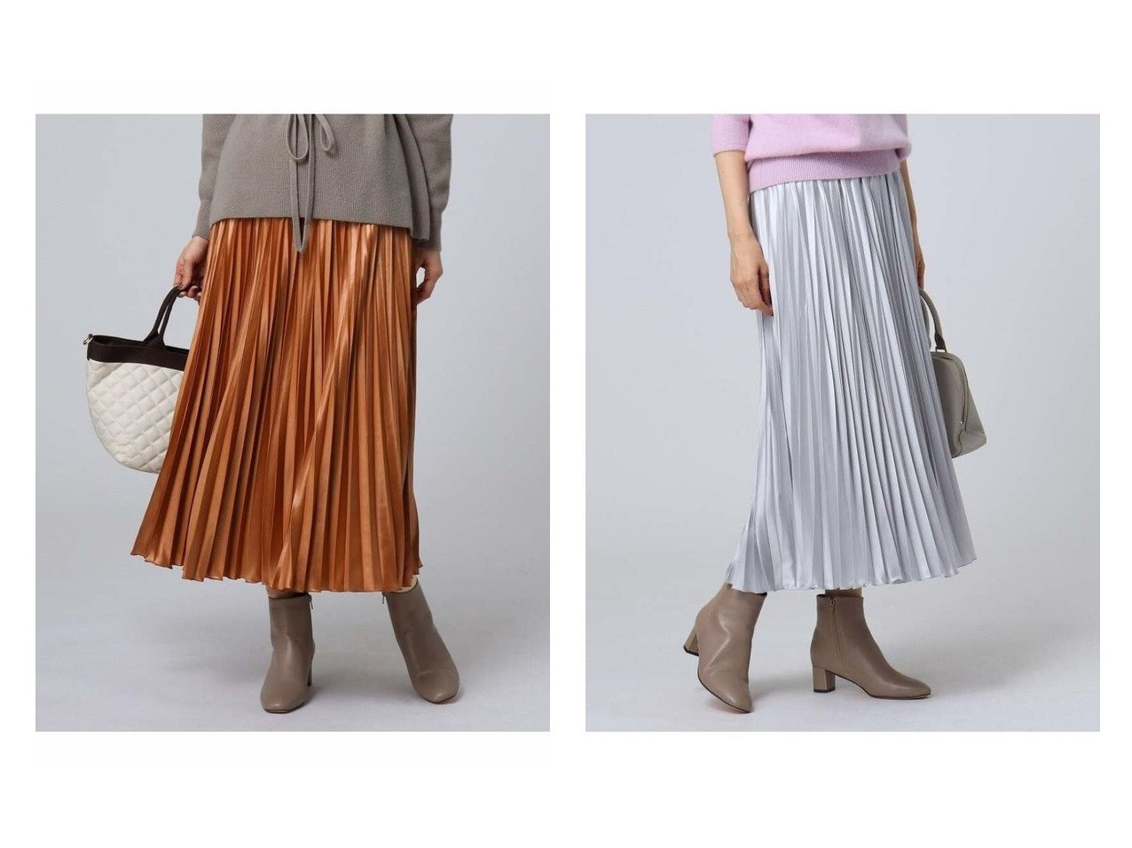 【UNTITLED/アンタイトル】の【洗える】チンツバルブサテンプリーツスカート スカートのおすすめ!人気、レディースファッションの通販 おすすめで人気のファッション通販商品 インテリア・家具・キッズファッション・メンズファッション・レディースファッション・服の通販 founy(ファニー) https://founy.com/ ファッション Fashion レディース WOMEN スカート Skirt プリーツスカート Pleated Skirts ロングスカート Long Skirt サテン ショート プリーツ ロング ローズ |ID:crp329100000002720