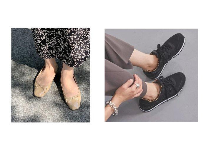 【Adam et Rope/アダム エ ロペ】のポーチ付きレインバレエ&【UNITED ARROWS/ユナイテッドアローズ】のWL996 V2 LEO スニーカー シューズ・靴のおすすめ!人気、レディースファッションの通販 おすすめファッション通販アイテム レディースファッション・服の通販 founy(ファニー) ファッション Fashion レディース WOMEN ポーチ Pouches クッション コンパクト 今季 シューズ スタイリッシュ スリッパ ポーチ シェイプ スニーカー バランス フィット ボストン レオパード |ID:crp329100000002751