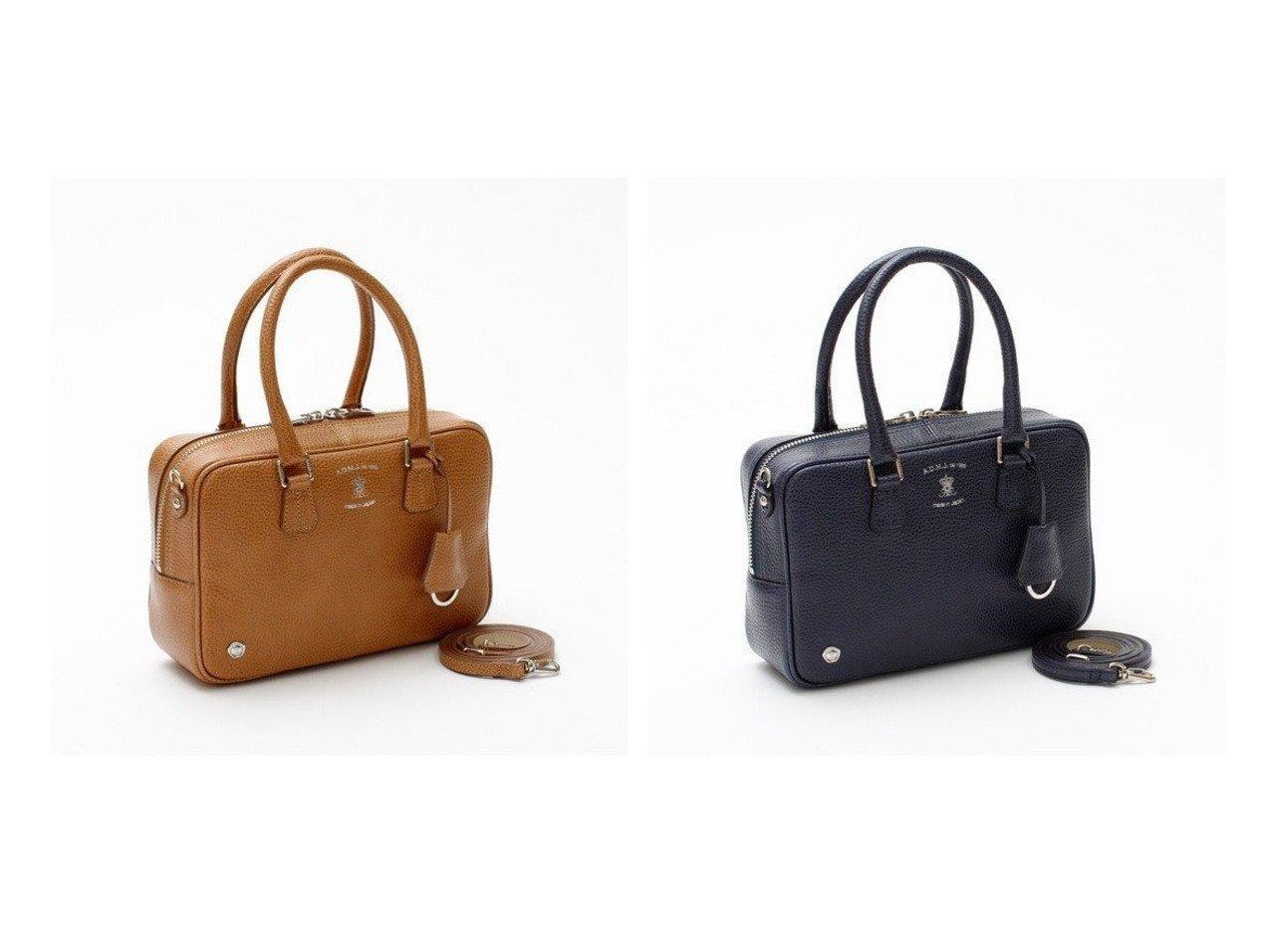 【A.D.M.J/アクセソワドゥマドモワゼルジャップ】のBOXLUX 23cm BOSTON BAG バッグのおすすめ!人気、レディースファッションの通販 おすすめで人気のファッション通販商品 インテリア・家具・キッズファッション・メンズファッション・レディースファッション・服の通販 founy(ファニー) https://founy.com/ ファッション Fashion レディース WOMEN バッグ Bag イタリア ショルダー シンプル ダブル 定番 ボストン ボックス |ID:crp329100000002766