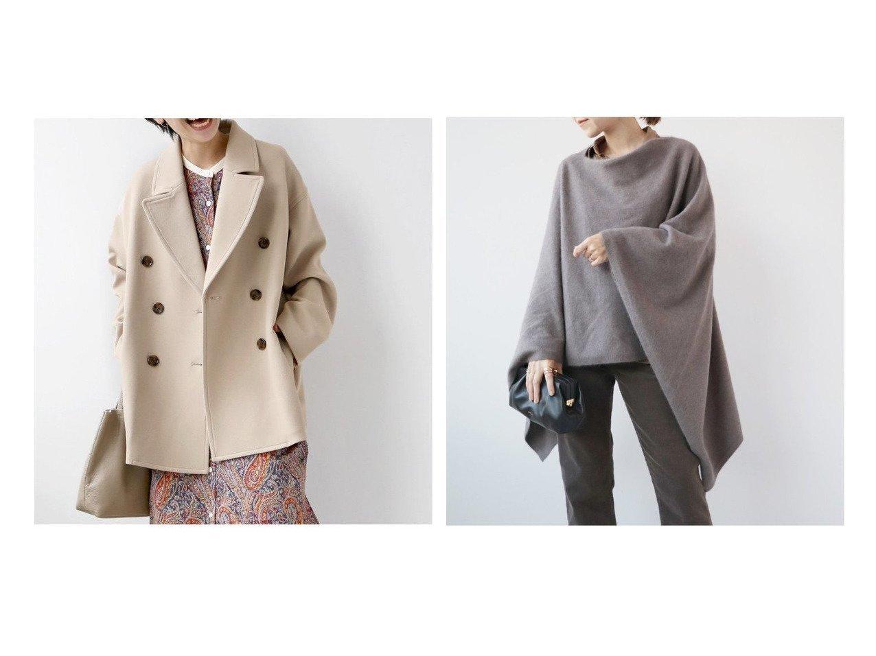 【JOURNAL STANDARD relume/ジャーナルスタンダード レリューム】のナノヒーティングスクエアPコート&【Plage/プラージュ】のFOX ポンチョ アウターのおすすめ!人気、レディースファッションの通販 おすすめで人気のファッション通販商品 インテリア・家具・キッズファッション・メンズファッション・レディースファッション・服の通販 founy(ファニー) https://founy.com/ ファッション Fashion レディース WOMEN アウター Coat Outerwear コート Coats Pコート Pea Coats ポンチョ Ponchos トップス Tops Tshirt ニット Knit Tops 秋冬 A/W Autumn/ Winter クラシック ショート ベーシック セーター ポンチョ リラックス |ID:crp329100000002826