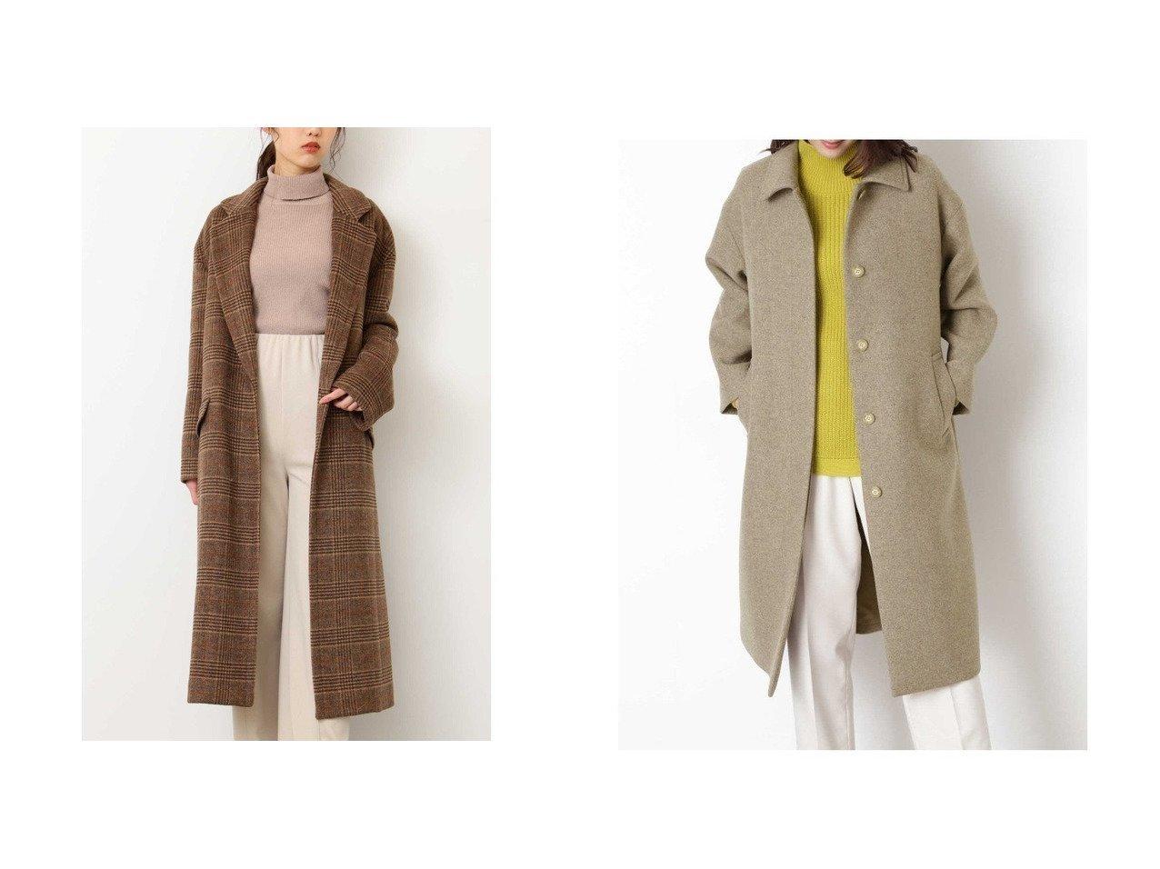 【FREE'S MART/フリーズマート】の《Sシリーズ対応商品》 ウール混オーバーチェスターコー&【NATURAL BEAUTY BASIC/ナチュラル ビューティー ベーシック】のFAbRICAステンカラーコート アウターのおすすめ!人気、レディースファッションの通販 おすすめで人気のファッション通販商品 インテリア・家具・キッズファッション・メンズファッション・レディースファッション・服の通販 founy(ファニー) https://founy.com/ ファッション Fashion レディース WOMEN アウター Coat Outerwear コート Coats ジャケット Jackets ショルダー ジャケット チェスターコート ドロップ ポケット ロング  ID:crp329100000002871