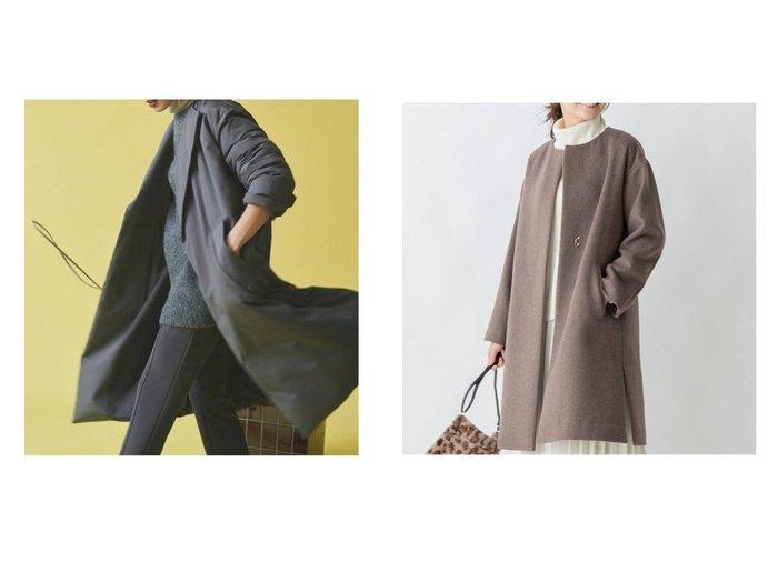 【any FAM/エニィファム】のカシミヤブレンドノーカラー コート&【Mila Owen/ミラオーウェン】のAライントレンチダウンコート アウターのおすすめ!人気、レディースファッションの通販 おすすめファッション通販アイテム インテリア・キッズ・メンズ・レディースファッション・服の通販 founy(ファニー) https://founy.com/ ファッション Fashion レディース WOMEN アウター Coat Outerwear コート Coats ジャケット Jackets ダウン Down Coats And Jackets トップス Tops Tshirt シャツ/ブラウス Shirts Blouses ジャケット ダウン トレンチ ロング インナー カシミヤ シンプル タートルネック チェスターコート デニム パーカー フレア 人気 定番 |ID:crp329100000002874