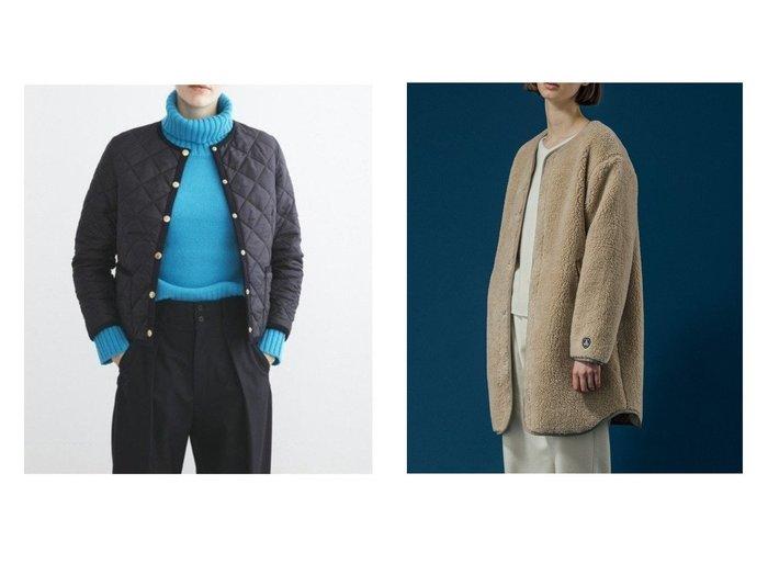 【Bshop/ビショップ】の【ORCIVAL】ウールボア カラーレスコート WOMEN&【Traditional Weatherwear/トラディショナル ウェザーウェア】のARKLEY アウターのおすすめ!人気、レディースファッションの通販 おすすめファッション通販アイテム レディースファッション・服の通販 founy(ファニー) ファッション Fashion レディース WOMEN アウター Coat Outerwear コート Coats ジャケット Jackets インナー コンパクト ジャケット ストール フォルム ポケット マフラー ロング 人気 防寒 イタリア ウォーム ストレッチ タフタ ハーフ パイピング |ID:crp329100000002885