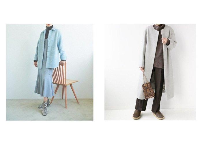 【JOURNAL STANDARD relume/ジャーナルスタンダード レリューム】のN COAT&【The Virgnia/ザ ヴァージニア】のモヘアループカットシャギーコート アウターのおすすめ!人気、レディースファッションの通販 おすすめファッション通販アイテム レディースファッション・服の通販 founy(ファニー) ファッション Fashion レディース WOMEN アウター Coat Outerwear コート Coats ジャケット Jackets ノーカラージャケット No Collar Leather Jackets ショート ジャケット トレンド モヘア 冬 Winter インナー カシミア 別注 秋冬 A/W Autumn/ Winter |ID:crp329100000002895