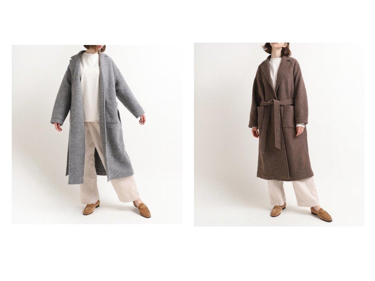 【RNA-N/アールエヌエーエヌ】のウールガウンロングコート アウターのおすすめ!人気、レディースファッションの通販 おすすめで人気のファッション通販商品 インテリア・家具・キッズファッション・メンズファッション・レディースファッション・服の通販 founy(ファニー) https://founy.com/ ファッション Fashion レディース WOMEN アウター Coat Outerwear コート Coats ジャケット Jackets イタリア ガウン ジャケット ロング |ID:crp329100000002897