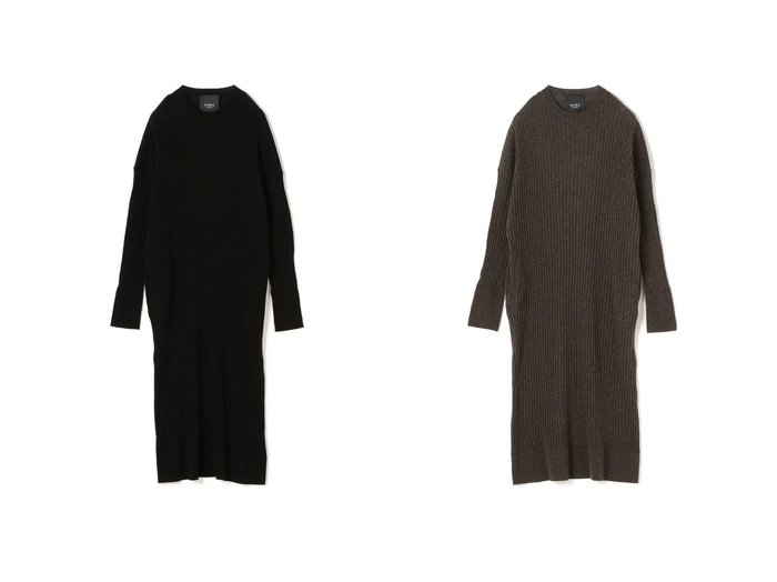 【N.O.R.C/ノーク】のルーズリブロングニットワンピース ワンピース・ドレスのおすすめ!人気、レディースファッションの通販  おすすめファッション通販アイテム レディースファッション・服の通販 founy(ファニー) ファッション Fashion レディース WOMEN ワンピース Dress ニットワンピース Knit Dresses ポケット ワイドリブ  ID:crp329100000002928