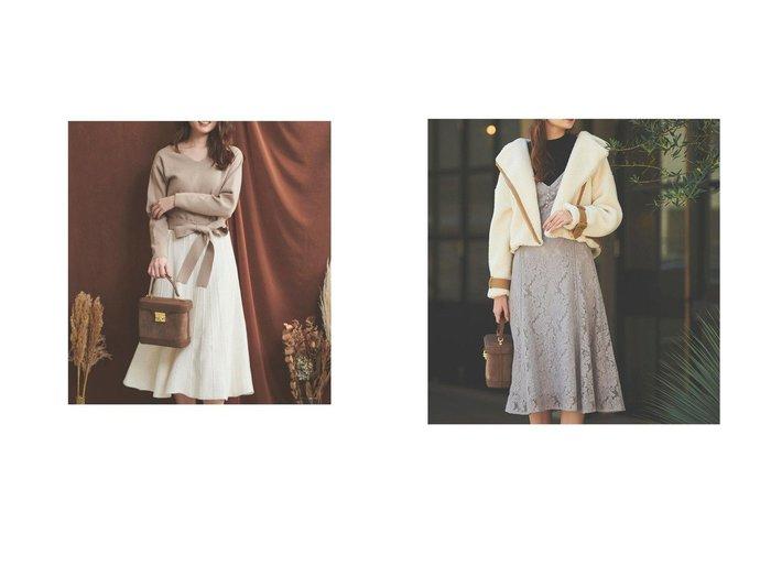【Noela/ノエラ】のレース編ワンピース&リブニット×キャミワンピースセット ワンピース・ドレスのおすすめ!人気、レディースファッションの通販  おすすめファッション通販アイテム インテリア・キッズ・メンズ・レディースファッション・服の通販 founy(ファニー) https://founy.com/ ファッション Fashion レディース WOMEN ワンピース Dress キャミワンピース No Sleeve Dresses フィット フレア ブラウジング レース |ID:crp329100000002935