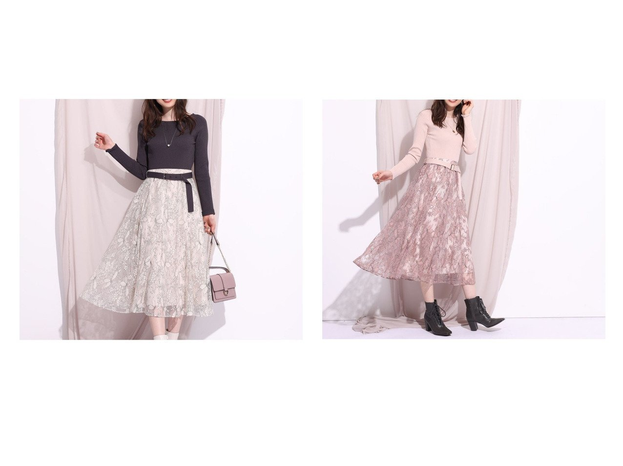 【Rirandture/リランドチュール】のNEWコードチュールレースドッキングワンピース ワンピース・ドレスのおすすめ!人気、レディースファッションの通販 おすすめで人気のファッション通販商品 インテリア・家具・キッズファッション・メンズファッション・レディースファッション・服の通販 founy(ファニー) https://founy.com/ ファッション Fashion レディース WOMEN ワンピース Dress ドッキング フィット フレア |ID:crp329100000002941