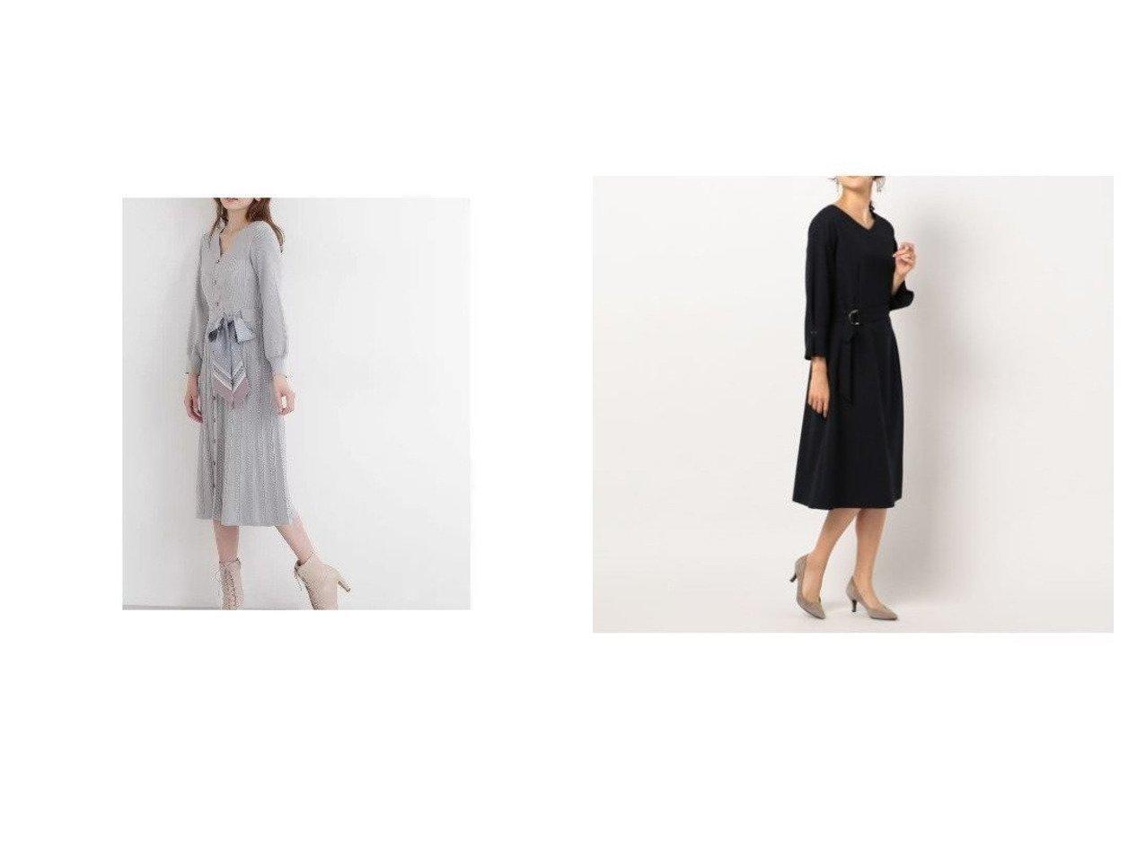 【NOLLEY'S/ノーリーズ】のウーリージョーゼットワンピース&【JILL by JILLSTUART/ジルバイジルスチュアート】のスカーフ付ニットワンピース ワンピース・ドレスのおすすめ!人気、レディースファッションの通販 おすすめで人気のファッション通販商品 インテリア・家具・キッズファッション・メンズファッション・レディースファッション・服の通販 founy(ファニー) https://founy.com/ ファッション Fashion レディース WOMEN トップス Tops Tshirt ニット Knit Tops シャツ/ブラウス Shirts Blouses ワンピース Dress ニットワンピース Knit Dresses スカーフ 今季 秋冬 A/W Autumn/ Winter ジョーゼット リラックス 長袖 |ID:crp329100000002947