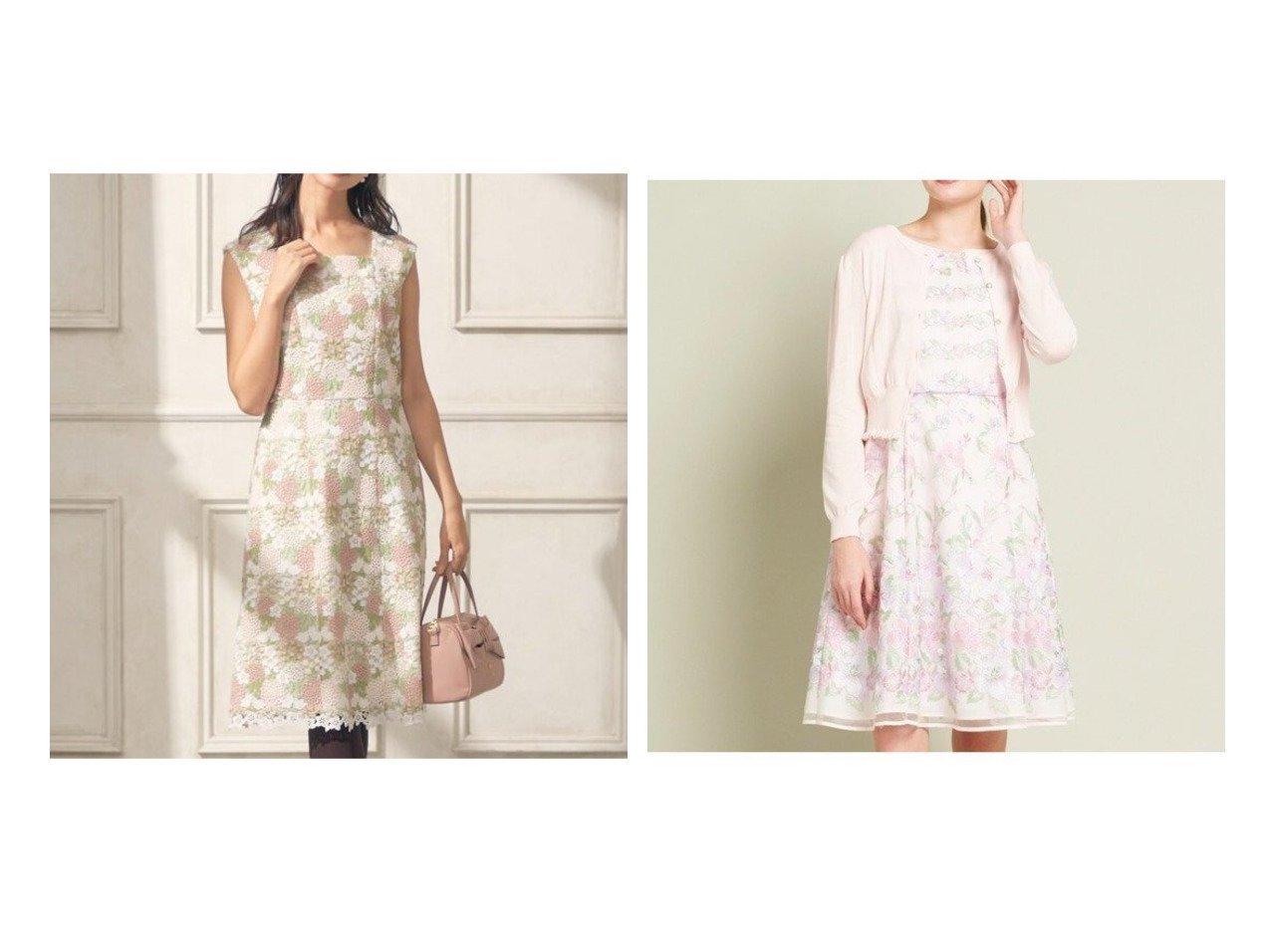 【TOCCA/トッカ】の【洗える!】FRAGRANCE ドレス&【洗える!】AROMATICA ドレス ワンピース・ドレスのおすすめ!人気、レディースファッションの通販 おすすめで人気のファッション通販商品 インテリア・家具・キッズファッション・メンズファッション・レディースファッション・服の通販 founy(ファニー) https://founy.com/ ファッション Fashion レディース WOMEN ワンピース Dress ドレス Party Dresses 冬 Winter ドレス |ID:crp329100000002951