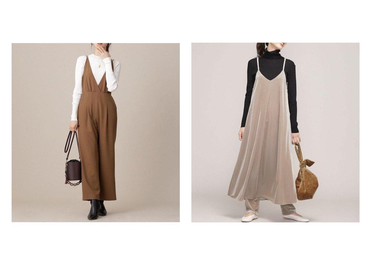 【nano universe/ナノ ユニバース】のキャミロンパース&シアベロアキャミソールワンピース ワンピース・ドレスのおすすめ!人気、レディースファッションの通販 おすすめで人気のファッション通販商品 インテリア・家具・キッズファッション・メンズファッション・レディースファッション・服の通販 founy(ファニー) https://founy.com/ ファッション Fashion レディース WOMEN ワンピース Dress トップス Tops Tshirt キャミソール / ノースリーブ No Sleeves ベロア Velour タートルネック ポケット ロング インナー ウォッシャブル カットソー キャミワンピース シャイニー セットアップ トレンド フレア リボン 秋冬 A/W Autumn/ Winter  ID:crp329100000002959