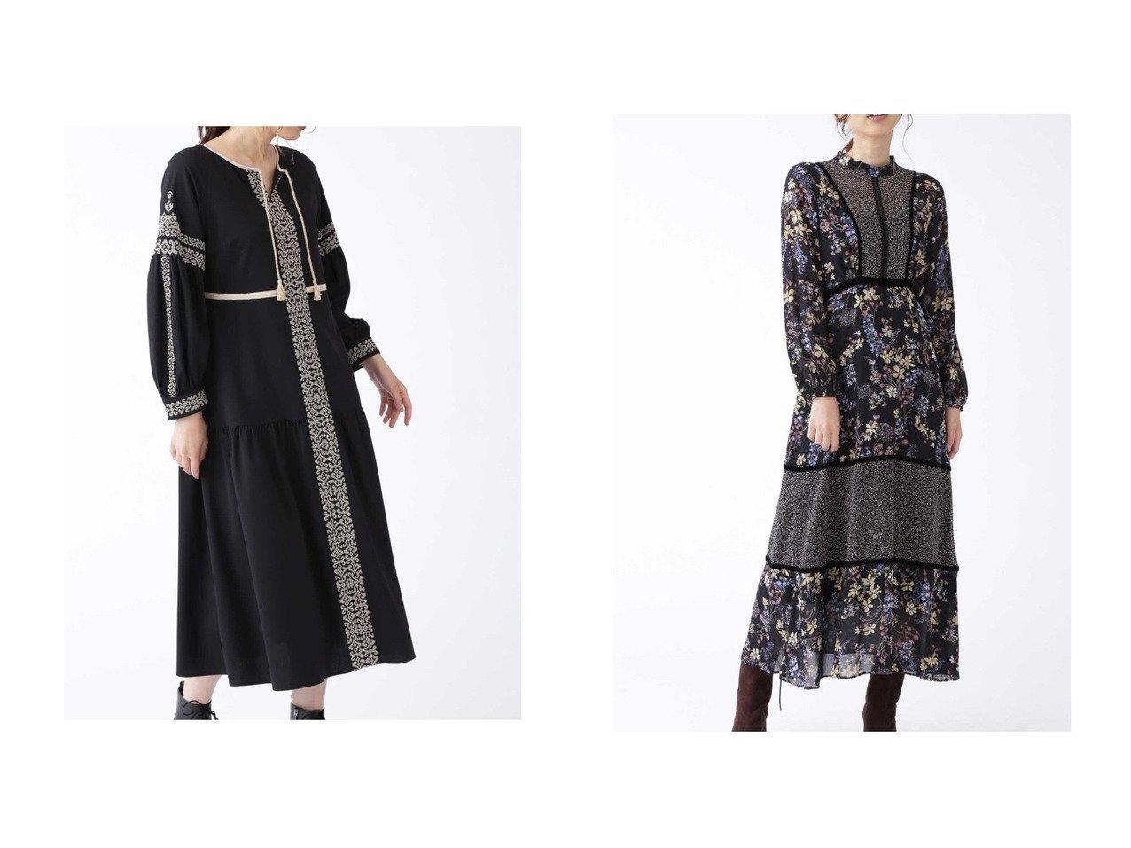 【JILLSTUART/ジルスチュアート】のアギーワンピース&ミックスフラワープリントワンピース ワンピース・ドレスのおすすめ!人気、レディースファッションの通販 おすすめで人気のファッション通販商品 インテリア・家具・キッズファッション・メンズファッション・レディースファッション・服の通販 founy(ファニー) https://founy.com/ ファッション Fashion レディース WOMEN ワンピース Dress インナー ギャザー タッセル タートル バランス フェミニン フロント シフォン ジョーゼット プリント ベルベット ボタニカル  ID:crp329100000002966