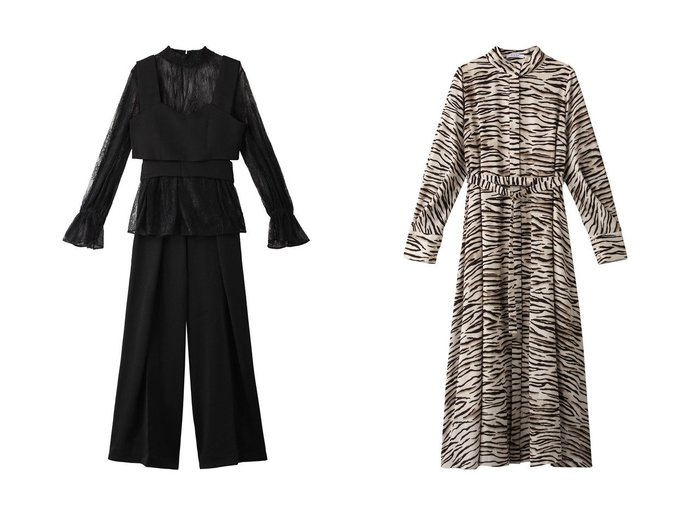 【ROSE BUD/ローズバッド】のアニマルプリントワンピース&レースブラウスセットアップ ワンピース・ドレスのおすすめ!人気、レディースファッションの通販 おすすめファッション通販アイテム レディースファッション・服の通販 founy(ファニー) ファッション Fashion レディース WOMEN トップス Tops Tshirt シャツ/ブラウス Shirts Blouses ワンピース Dress オールインワン ワンピース All In One Dress セットアップ Setup パンツ Pants セットアップ パーティ ビスチェ レース ワイド クール マキシ レオパード ロング 秋冬 A/W Autumn/ Winter 羽織 |ID:crp329100000002977