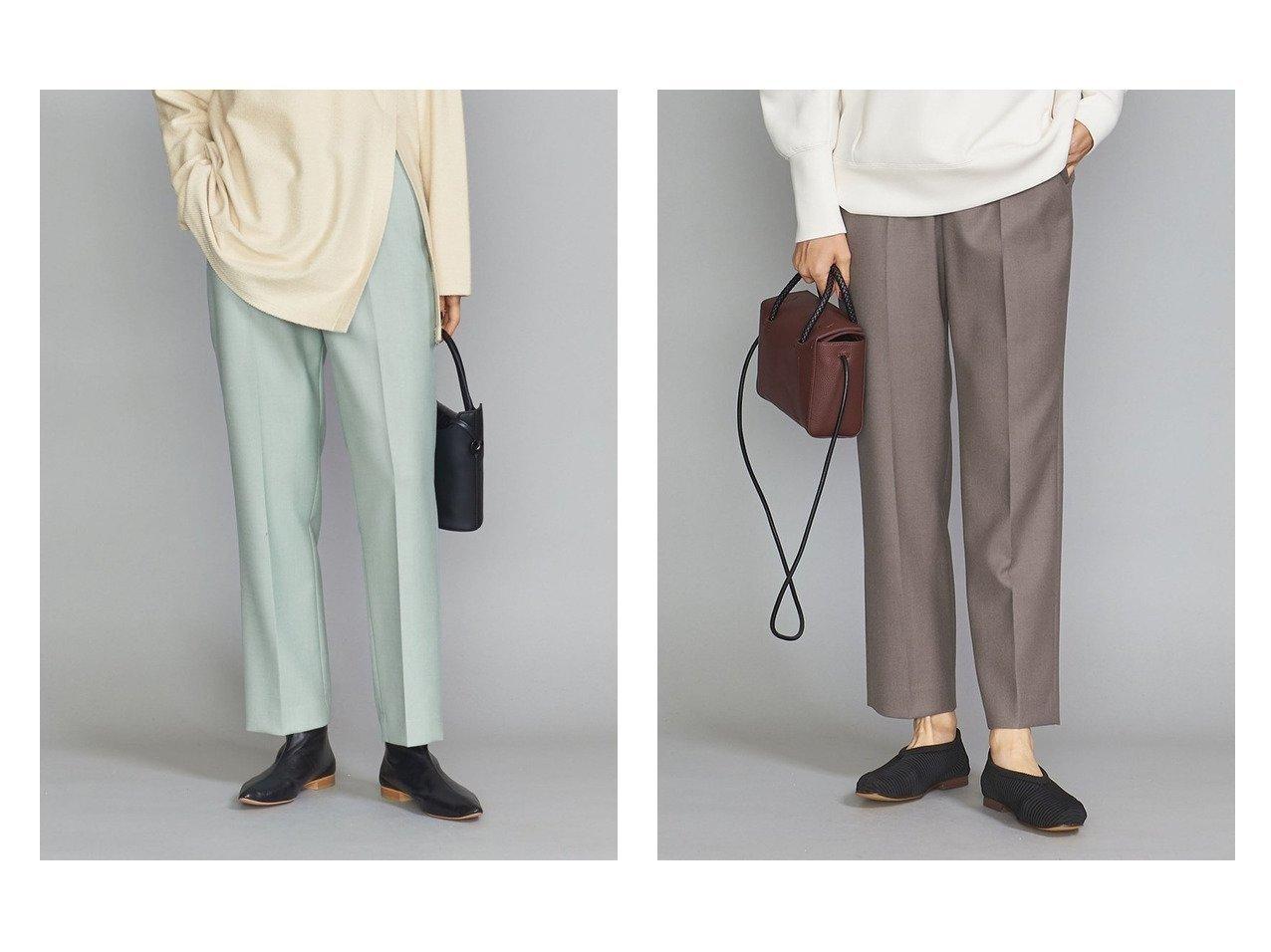 【BEAUTY&YOUTH UNITED ARROWS/ビューティアンド ユースユナイテッドアローズ】のBY ダブルクロススリムテーパードパンツ -ウォッシャブル- パンツのおすすめ!人気、レディースファッションの通販 おすすめで人気のファッション通販商品 インテリア・家具・キッズファッション・メンズファッション・レディースファッション・服の通販 founy(ファニー) https://founy.com/ ファッション Fashion レディース WOMEN パンツ Pants くるぶし ウォッシャブル クロップド ショート ジーンズ スニーカー ダブル |ID:crp329100000003010