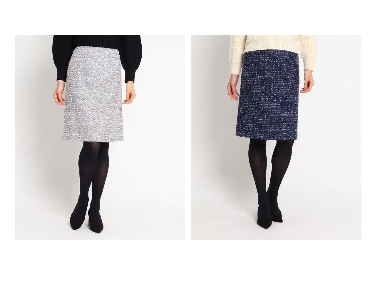 【COUP DE CHANCE/クード シャンス】のロザリーツィードスカート スカートのおすすめ!人気、レディースファッションの通販 おすすめで人気のファッション通販商品 インテリア・家具・キッズファッション・メンズファッション・レディースファッション・服の通販 founy(ファニー) https://founy.com/ ファッション Fashion レディース WOMEN スカート Skirt タイトスカート ツイード フレア ポケット |ID:crp329100000003028