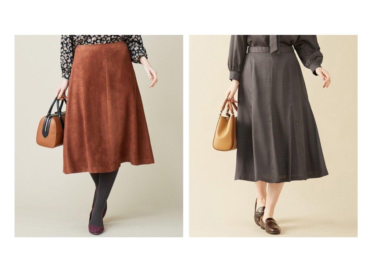 【J.PRESS/ジェイ プレス】の【洗える】シルクライクサテンドット スカート&Peスエード スカート スカートのおすすめ!人気、レディースファッションの通販 おすすめで人気のファッション通販商品 インテリア・家具・キッズファッション・メンズファッション・レディースファッション・服の通販 founy(ファニー) https://founy.com/ ファッション Fashion レディース WOMEN スカート Skirt スエード トレンド ランダム リアル ドット ドレープ フェミニン フレア  ID:crp329100000003031