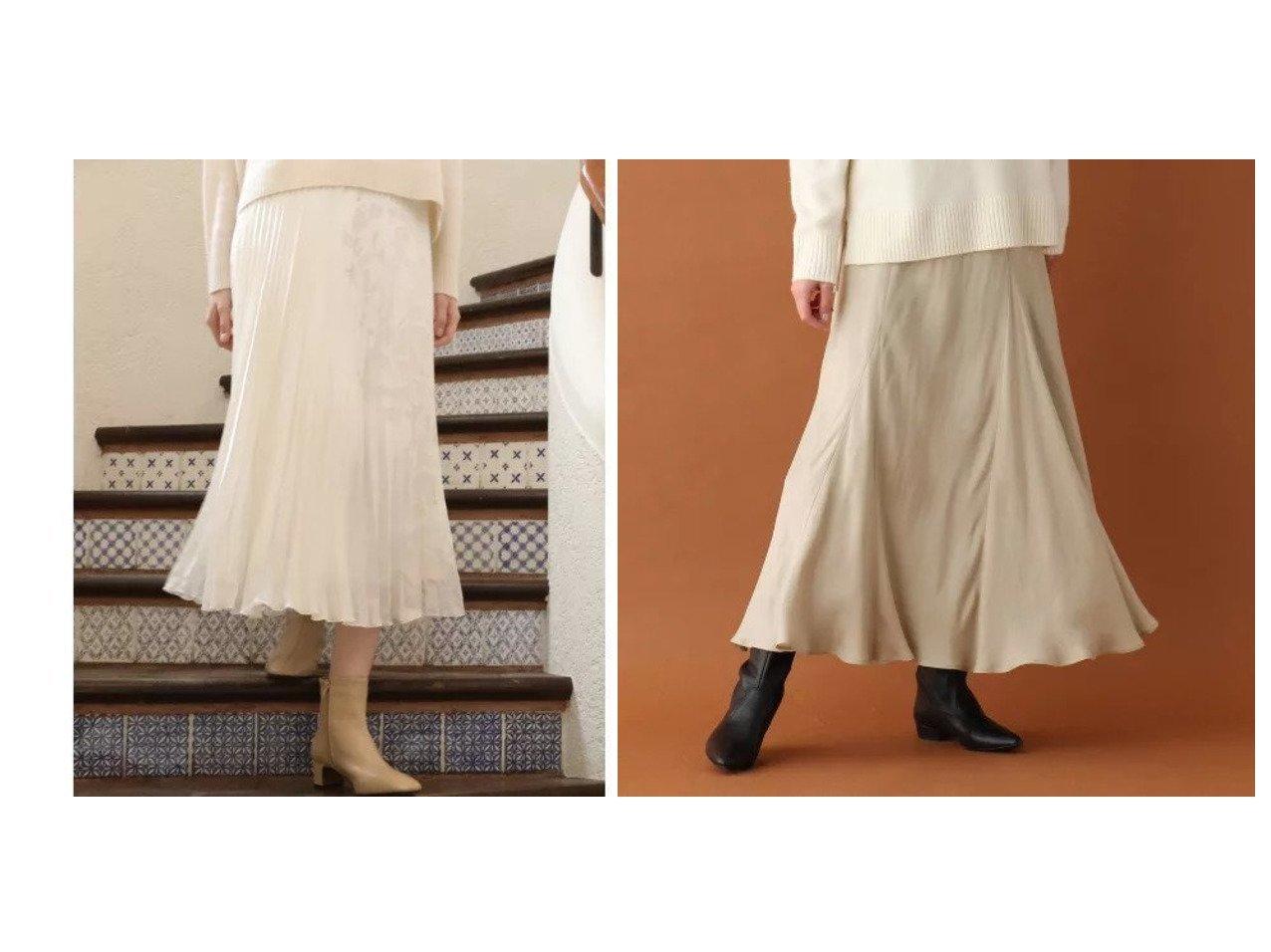 【DRESSTERIOR/ドレステリア】のキュプラフィブリルロングスカート&【ef-de/エフデ】の《Maglie par ef-de》フラワーオパールプリーツスカート スカートのおすすめ!人気、レディースファッションの通販 おすすめで人気のファッション通販商品 インテリア・家具・キッズファッション・メンズファッション・レディースファッション・服の通販 founy(ファニー) https://founy.com/ ファッション Fashion レディース WOMEN スカート Skirt プリーツスカート Pleated Skirts ロングスカート Long Skirt アシンメトリー プリント プリーツ ロング  ID:crp329100000003039