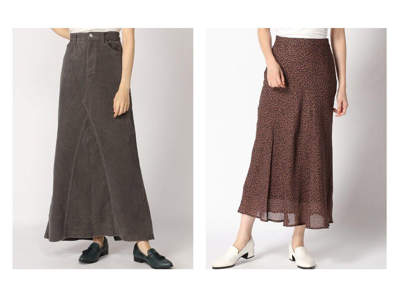 【LOWRYS FARM/ローリーズファーム】のアニマルキリカエフレアスカート&【Plage/プラージュ】のHEALTHY DENIM SP CORD LONG SLIT SKT スカートのおすすめ!人気、レディースファッションの通販 おすすめで人気のファッション通販商品 インテリア・家具・キッズファッション・メンズファッション・レディースファッション・服の通販 founy(ファニー) https://founy.com/ ファッション Fashion レディース WOMEN スカート Skirt ロングスカート Long Skirt Aライン/フレアスカート Flared A-Line Skirts コーデュロイ ストレッチ スリット デニム フィット フレア ロング 秋冬 A/W Autumn/ Winter カットソー スウェット マーメイド レオパード 人気 春 秋  ID:crp329100000003040