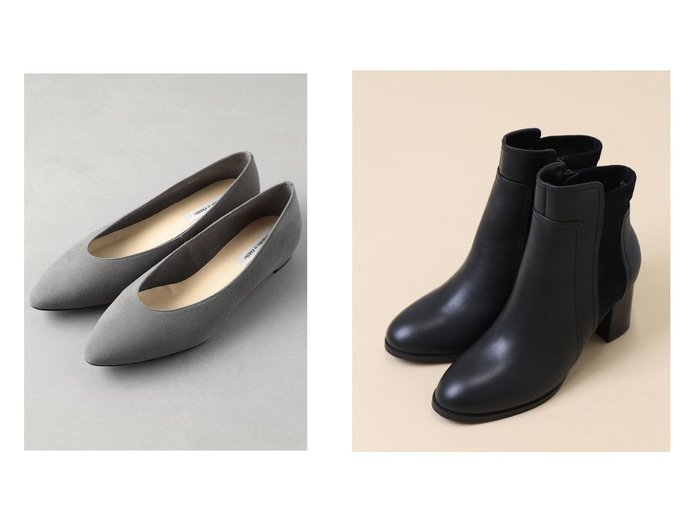 【Odette e Odile/オデット エ オディール】のOFD ポインテッド FLT15↓↑&【artemis by DIANA/アルテミス バイ ダイアナ】の異素材MIXショートブーツ シューズ・靴のおすすめ!人気、レディースファッションの通販 おすすめファッション通販アイテム レディースファッション・服の通販 founy(ファニー) ファッション Fashion レディース WOMEN シューズ シンプル フラット ベーシック ポインテッド 人気 秋冬 A/W Autumn/ Winter インナー ショート トレンド フィット フェミニン |ID:crp329100000003057
