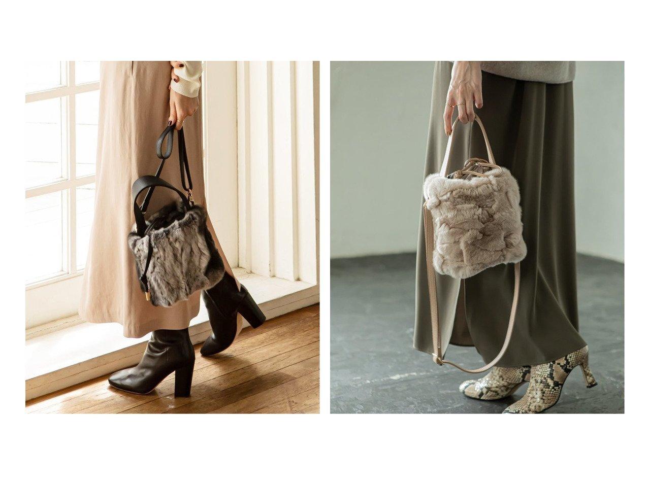 【Spick & Span Noble/スピック&スパン ノーブル】の【VIOLA d ORO】 ワンハンドルファーバッグ バッグのおすすめ!人気、レディースファッションの通販 おすすめで人気のファッション通販商品 インテリア・家具・キッズファッション・メンズファッション・レディースファッション・服の通販 founy(ファニー) https://founy.com/ ファッション Fashion レディース WOMEN バッグ Bag ショルダー 別注 リアル 秋冬 A/W Autumn/ Winter |ID:crp329100000003058
