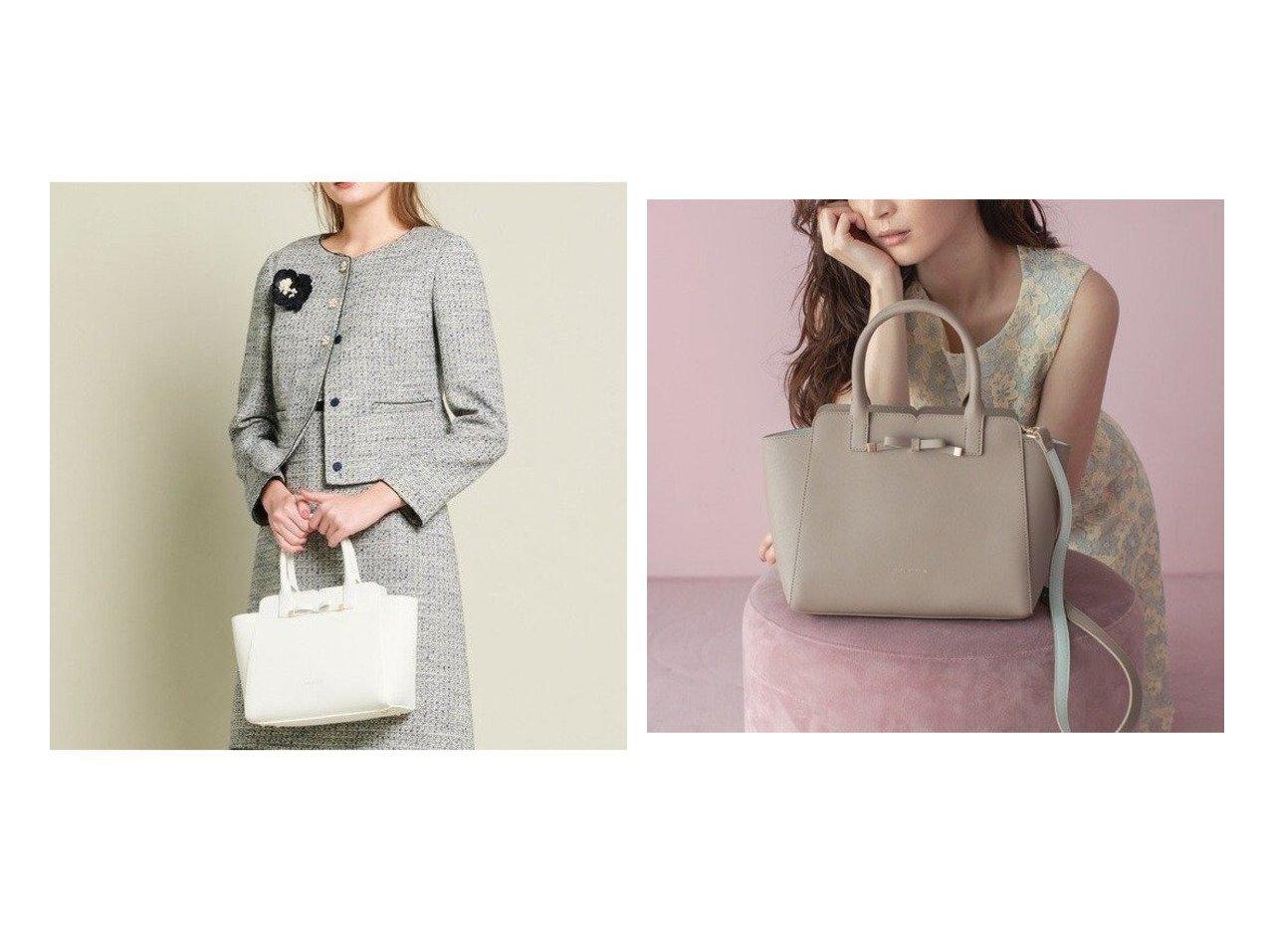 【TOCCA/トッカ】のTINY RIBBON LEATHER BAG レザーバッグ バッグのおすすめ!人気、レディースファッションの通販 おすすめで人気のファッション通販商品 インテリア・家具・キッズファッション・メンズファッション・レディースファッション・服の通販 founy(ファニー) https://founy.com/ ファッション Fashion レディース WOMEN バッグ Bag ショルダー シンプル フォーマル リボン |ID:crp329100000003061