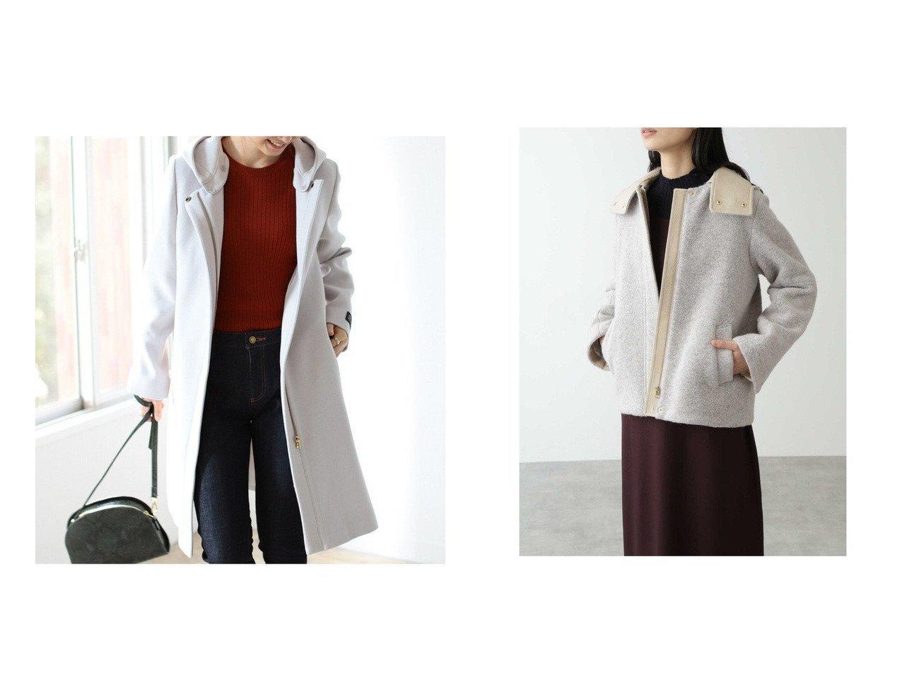 【B:MING by BEAMS/ビーミング by ビームス】のB: BALLI フード ロング コート 20AW&【HUMAN WOMAN/ヒューマンウーマン】のスライバーブルゾン アウターのおすすめ!人気、レディースファッションの通販 おすすめで人気のファッション通販商品 インテリア・家具・キッズファッション・メンズファッション・レディースファッション・服の通販 founy(ファニー) https://founy.com/ ファッション Fashion レディース WOMEN アウター Coat Outerwear コート Coats ジャケット Jackets ブルゾン Blouson Jackets 秋冬 A/W Autumn/ Winter シンプル ジップ ジャケット ストレート ロング イタリア ウォーム ジャージー ドット ブルゾン メタル |ID:crp329100000003120