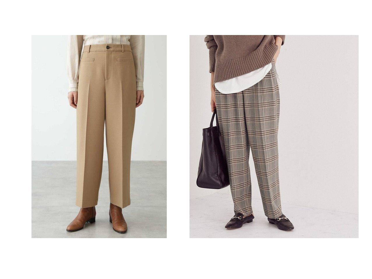 【ROPE/ロペ】の【セットアップ対応】ウールライクツイードベルテッドパンツ&【HUMAN WOMAN/ヒューマンウーマン】のフレックスウールダブルクロスパンツ パンツのおすすめ!人気、レディースファッションの通販 おすすめで人気のファッション通販商品 インテリア・家具・キッズファッション・メンズファッション・レディースファッション・服の通販 founy(ファニー) https://founy.com/ ファッション Fashion レディース WOMEN パンツ Pants セットアップ Setup パンツ Pants クロップド ショート ストレッチ ストレート クラシカル コンパクト セットアップ チェック ツィード ツイード トレンド マニッシュ 無地 |ID:crp329100000003125