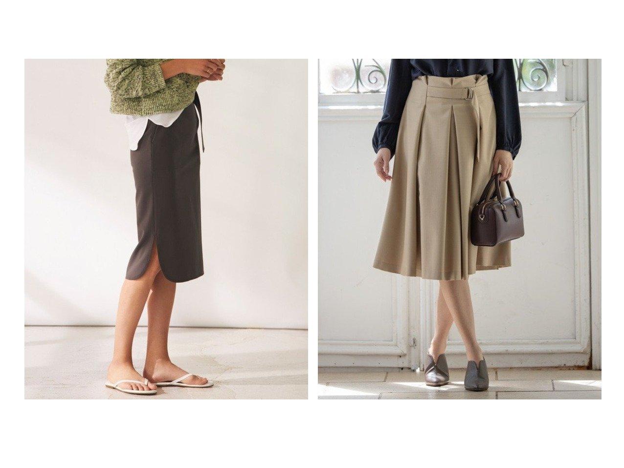 【KUMIKYOKU/組曲】の【洗える】W 2wayストレッチ タックスカート&【BEIGE,/ベイジ,】のタイトスカート スカートのおすすめ!人気、レディースファッションの通販 おすすめファッション通販アイテム インテリア・キッズ・メンズ・レディースファッション・服の通販 founy(ファニー) ファッション Fashion レディース WOMEN スカート Skirt タイトスカート 秋冬 A/W Autumn/ Winter クラシカル ストレッチ チェック ハーフ バイアス ベーシック 無地 秋 グレー系 Gray ブラック系 Black ベージュ系 Beige |ID:crp329100000003166