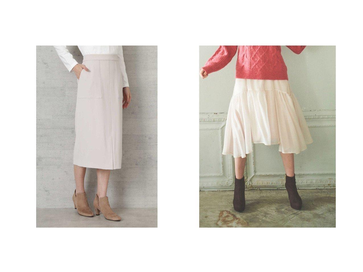 【NATURAL BEAUTY BASIC/ナチュラル ビューティー ベーシック】の[洗える]ダブルサテンスカート&【31 Sons de mode/トランテアン ソン ドゥ モード】の【スカート】エアリーフレアスカート スカートのおすすめ!人気、レディースファッションの通販 おすすめで人気のファッション通販商品 インテリア・家具・キッズファッション・メンズファッション・レディースファッション・服の通販 founy(ファニー) https://founy.com/ ファッション Fashion レディース WOMEN スカート Skirt Aライン/フレアスカート Flared A-Line Skirts サテン ストレッチ ストレート イエロー イレギュラーヘム ギャザー シフォン シンプル スニーカー トレーナー パーカー フェミニン フレアースカート ライダース ラベンダー 冬 Winter  ID:crp329100000003169