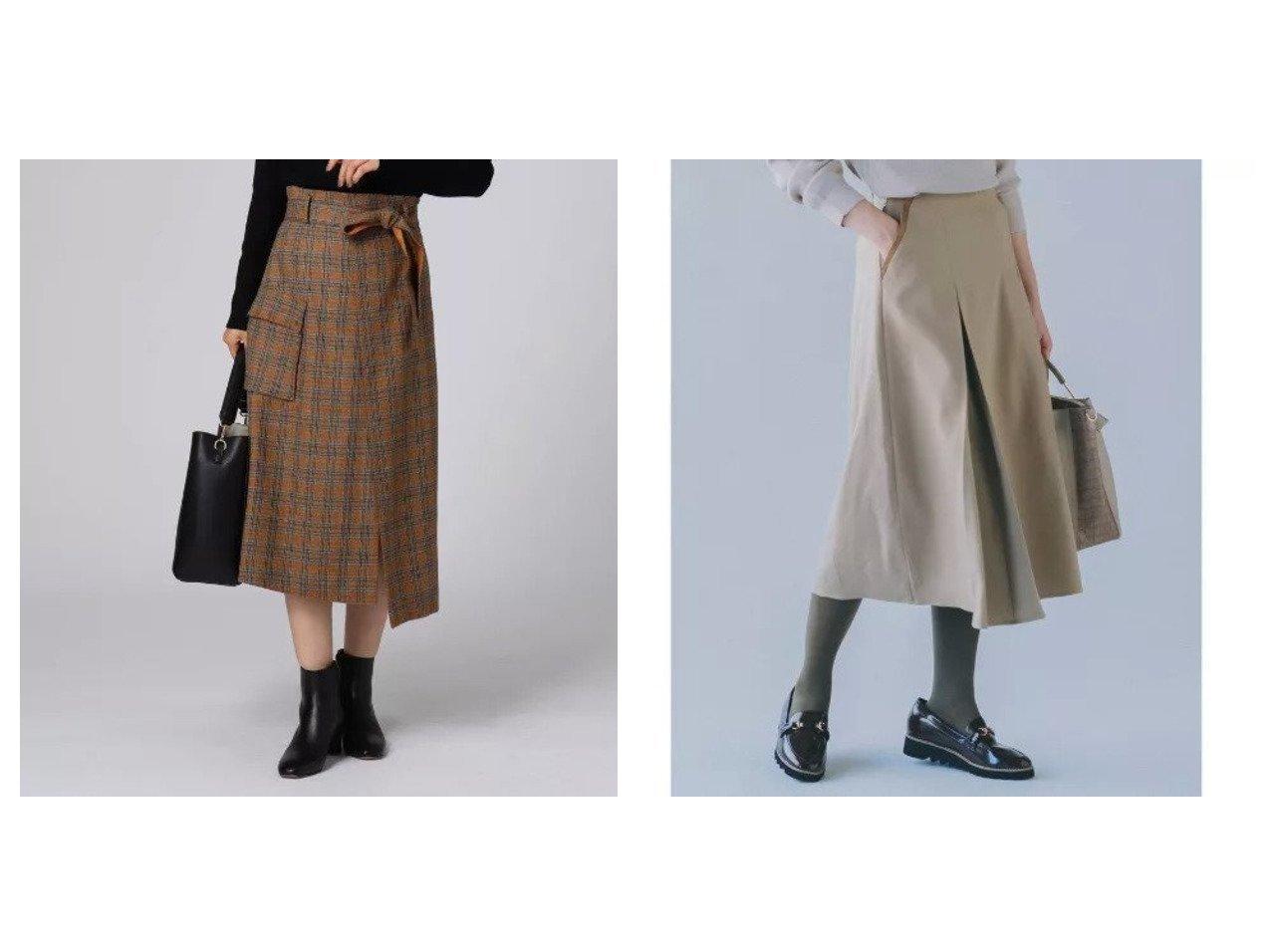 【UNTITLED/アンタイトル】のパオレッティ アシンメトリーチェックスカート&【THE SHOP TK/ザ ショップ ティーケー】の配色パイピングスカート スカートのおすすめ!人気、レディースファッションの通販 おすすめで人気のファッション通販商品 インテリア・家具・キッズファッション・メンズファッション・レディースファッション・服の通販 founy(ファニー) https://founy.com/ ファッション Fashion レディース WOMEN スカート Skirt イタリア カッティング スペシャル チェック ドット パッチ ポケット ミックス メタル メランジ パイピング ブルゾン  ID:crp329100000003176