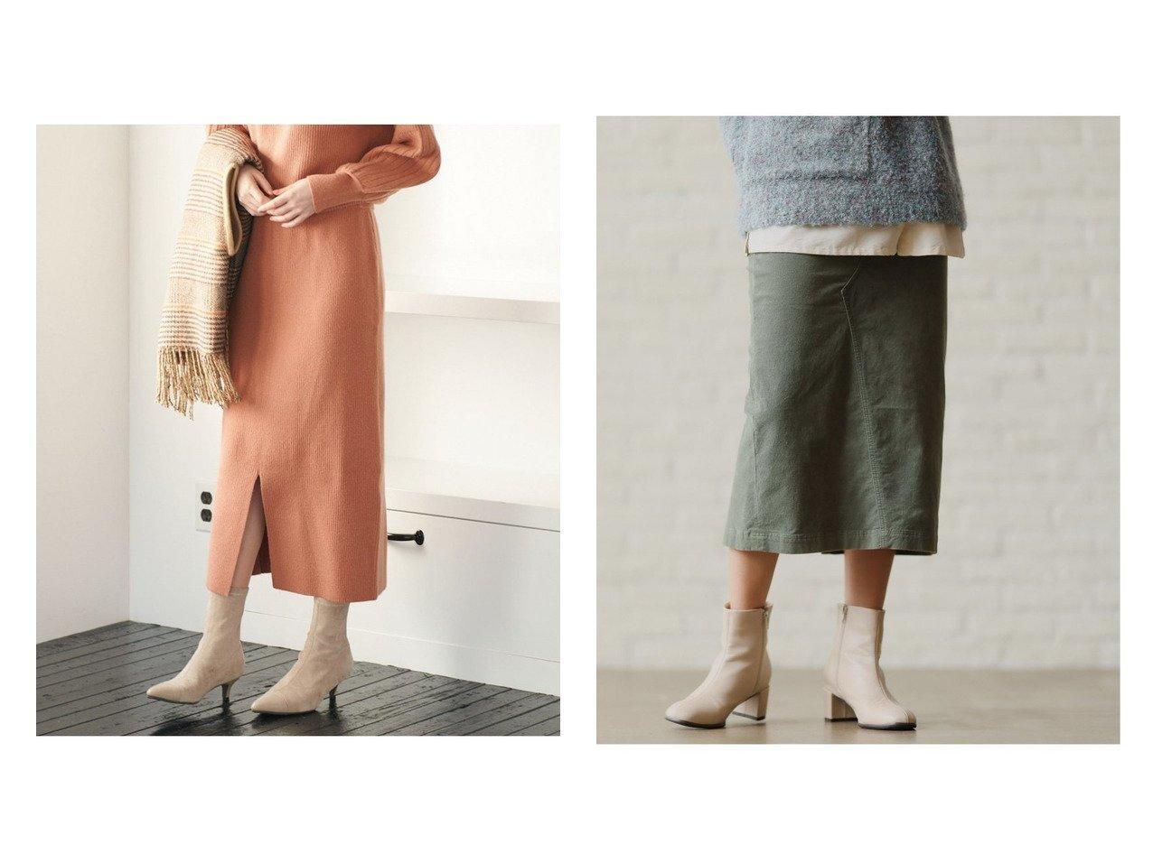 【niko and…/ニコアンド】のアヤコーデワークタイトSK&【VIS/ビス】の【セットアップ対応】フロントワイドリブニットスカート スカートのおすすめ!人気、レディースファッションの通販 おすすめで人気のファッション通販商品 インテリア・家具・キッズファッション・メンズファッション・レディースファッション・服の通販 founy(ファニー) https://founy.com/ ファッション Fashion レディース WOMEN セットアップ Setup スカート Skirt スカート Skirt スリット セットアップ センター ワイドリブ シンプル ジャケット タイトスカート ポケット 人気  ID:crp329100000003178
