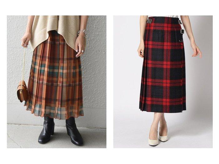 【SHIPS any/シップス エニィ】の《追加予約》SHIPS any: SPRINTEX チェックプリーツスカート&【Spick & Span/スピック&スパン】のONEIL OF DUBLIN ラッププリーツマキシスカート スカートのおすすめ!人気、レディースファッションの通販 おすすめファッション通販アイテム レディースファッション・服の通販 founy(ファニー) ファッション Fashion レディース WOMEN スカート Skirt プリーツスカート Pleated Skirts カットソー ギャザー シフォン スウェット チェック トレンド フランス プリント プリーツ ランダム ロング 人気 秋 キルト |ID:crp329100000003182